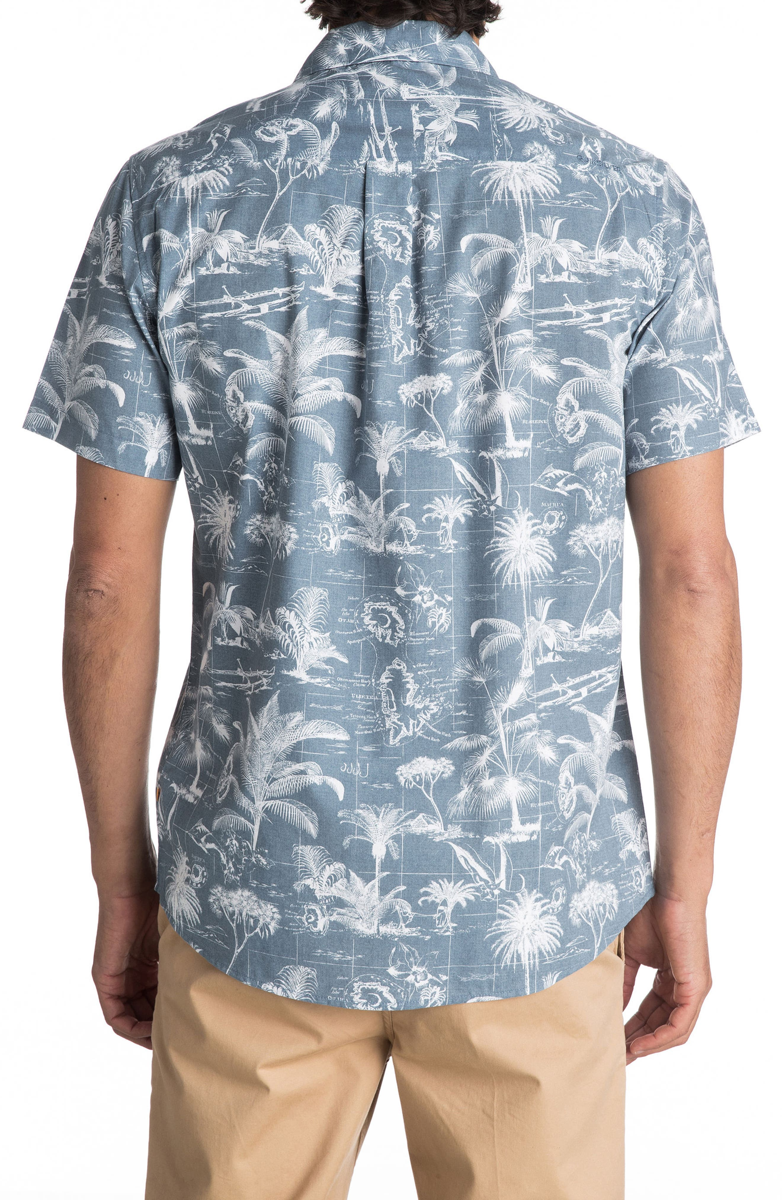 Alternate Image 2  - Quiksilver Waterman Collection Palmitoto Shirt