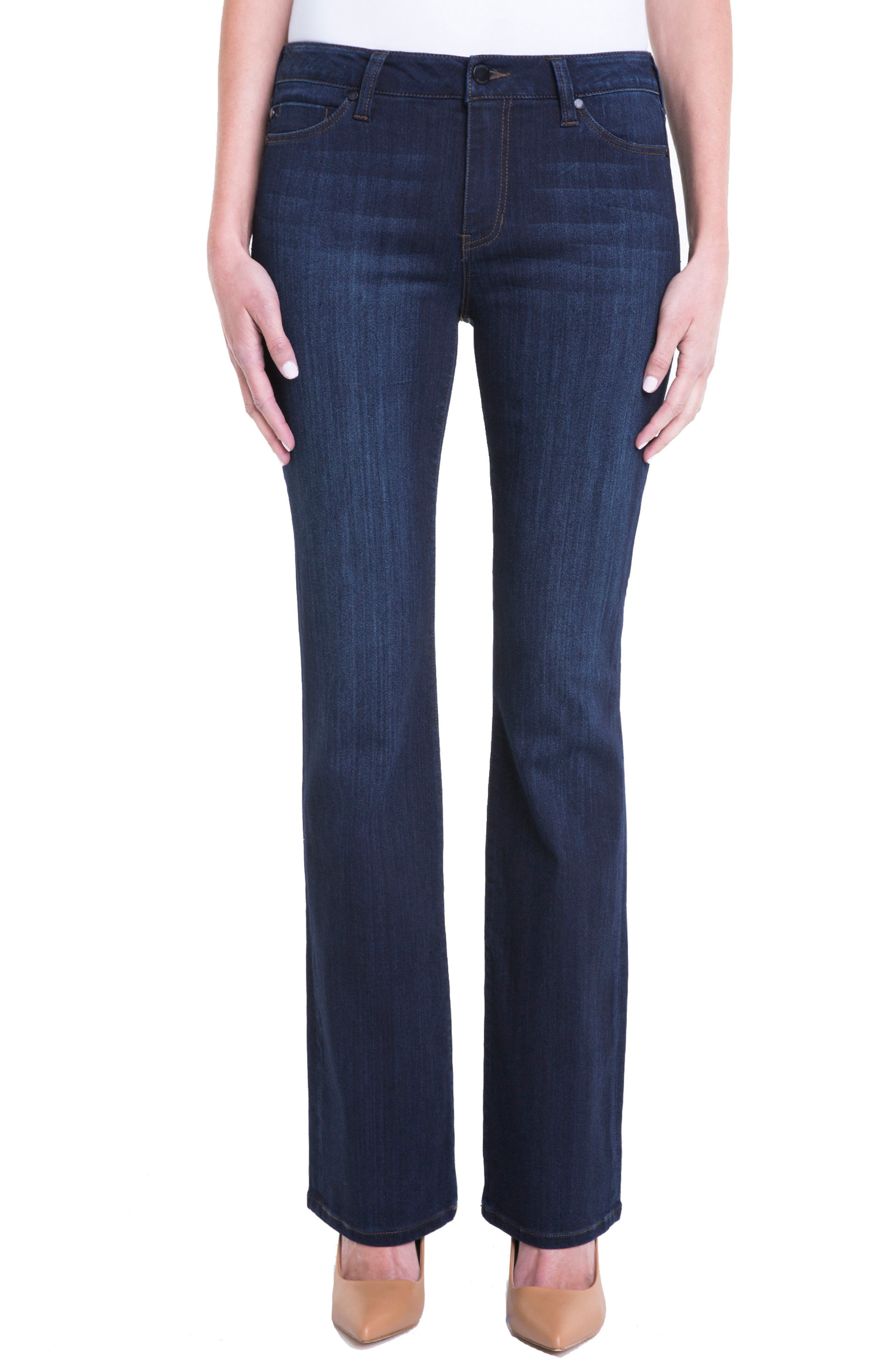 Lucy Bootcut Jeans,                         Main,                         color, Dunmore Dark