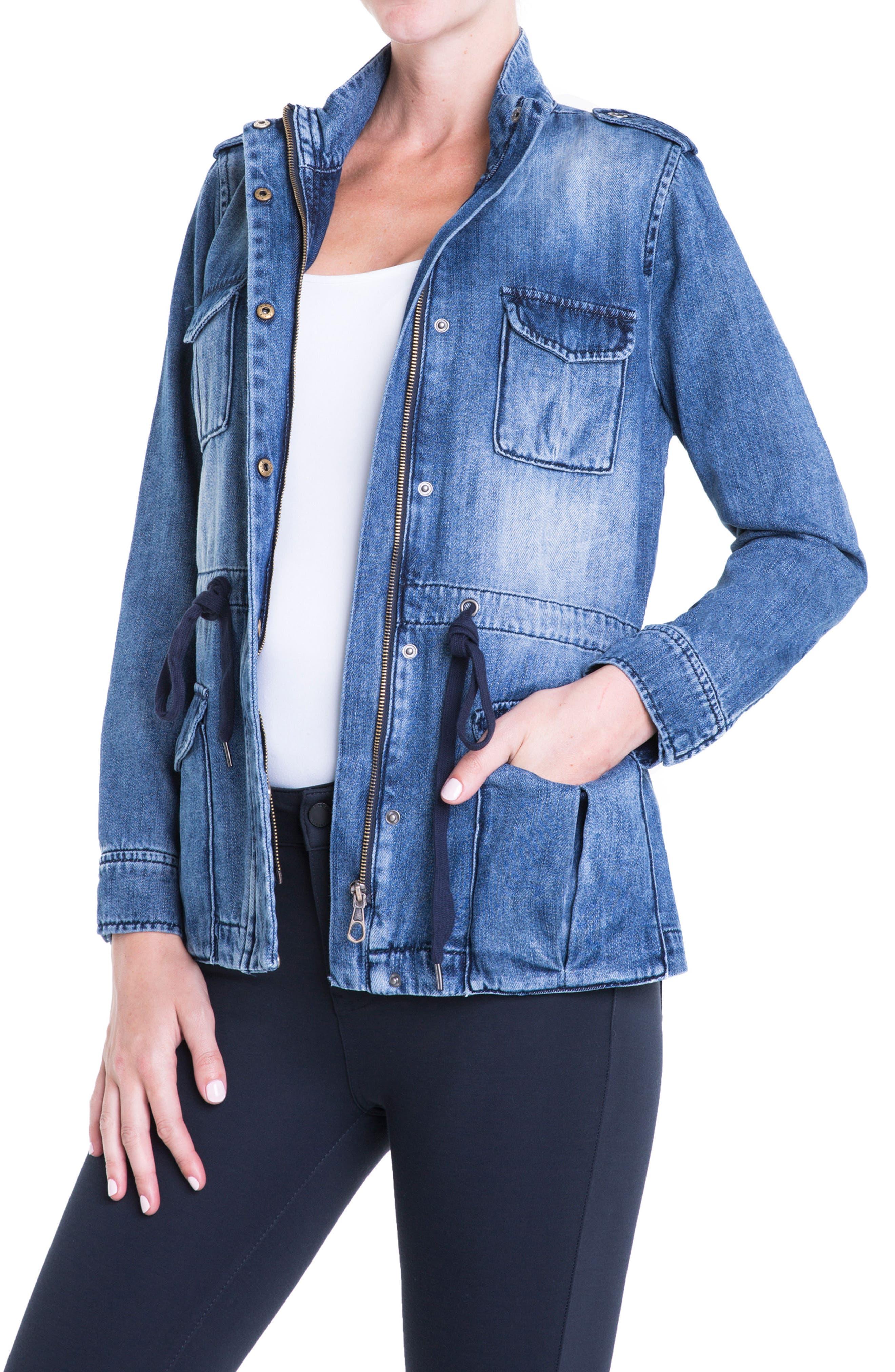 Liverpool Jeans Company Denim Utility Jacket