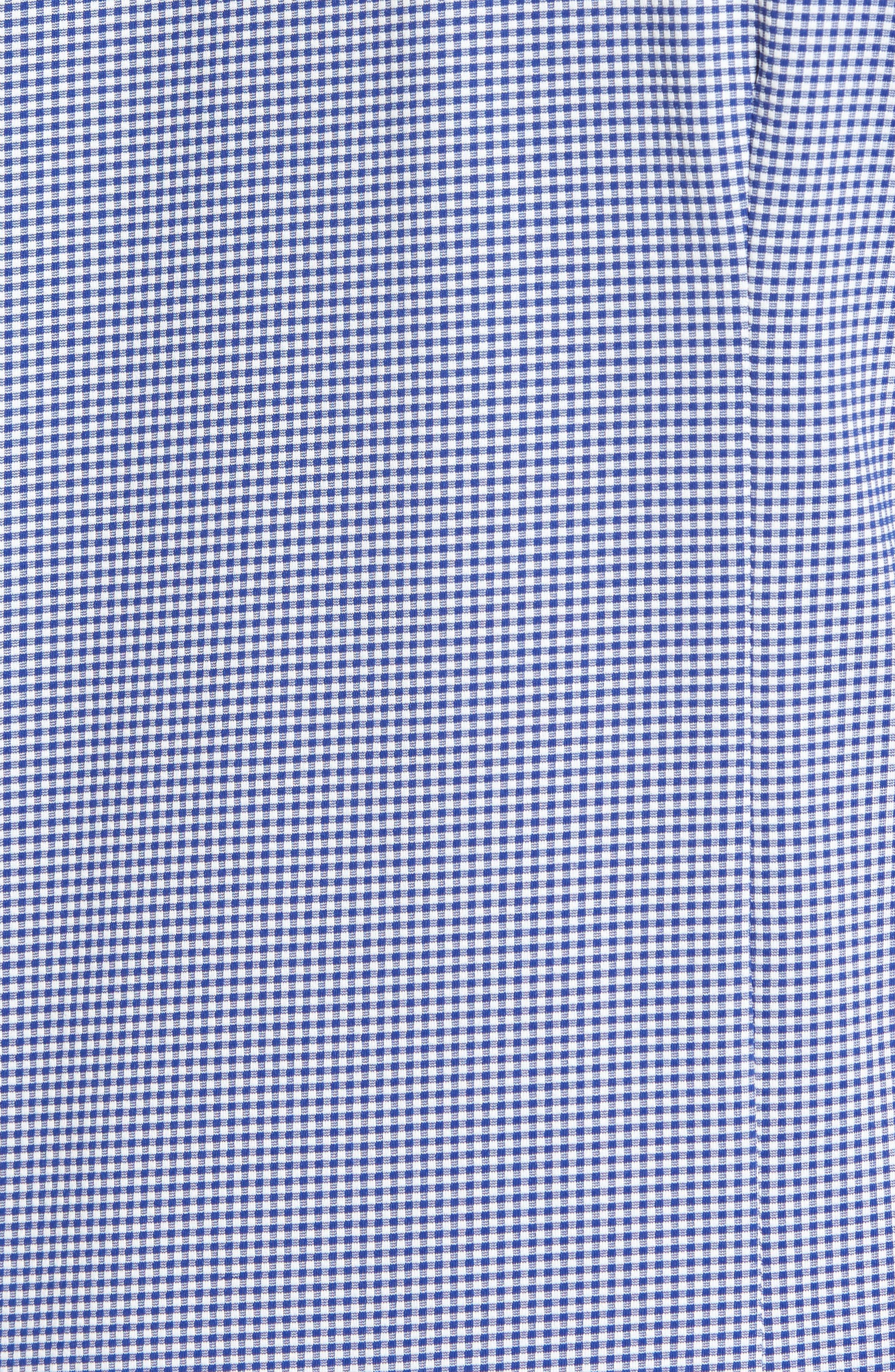 Beckett Gingham Sport Shirt,                             Alternate thumbnail 5, color,                             Blue
