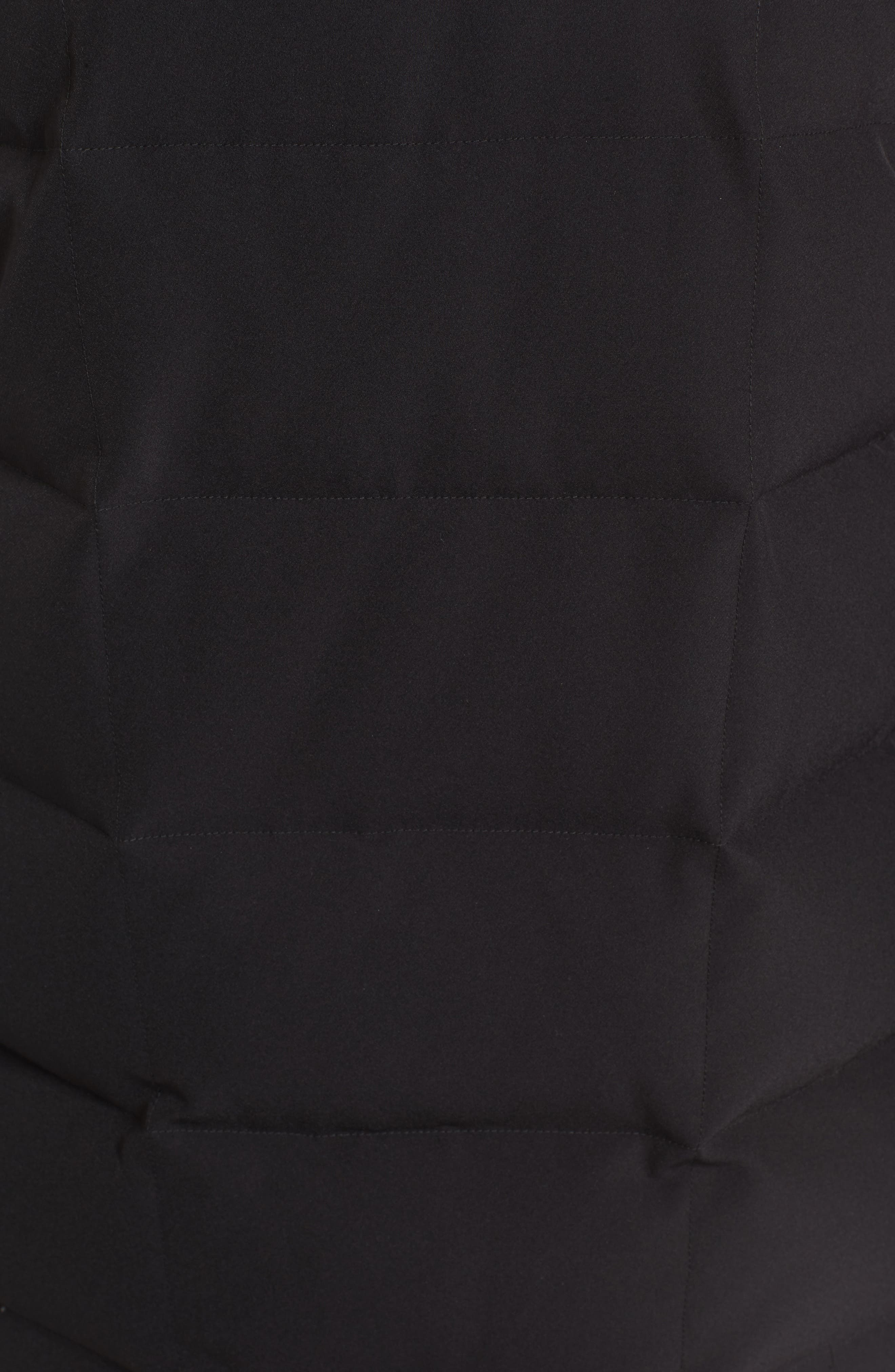Alternate Image 5  - Derek Lam 10 Crosby Down Vest with Genuine Fox Fur