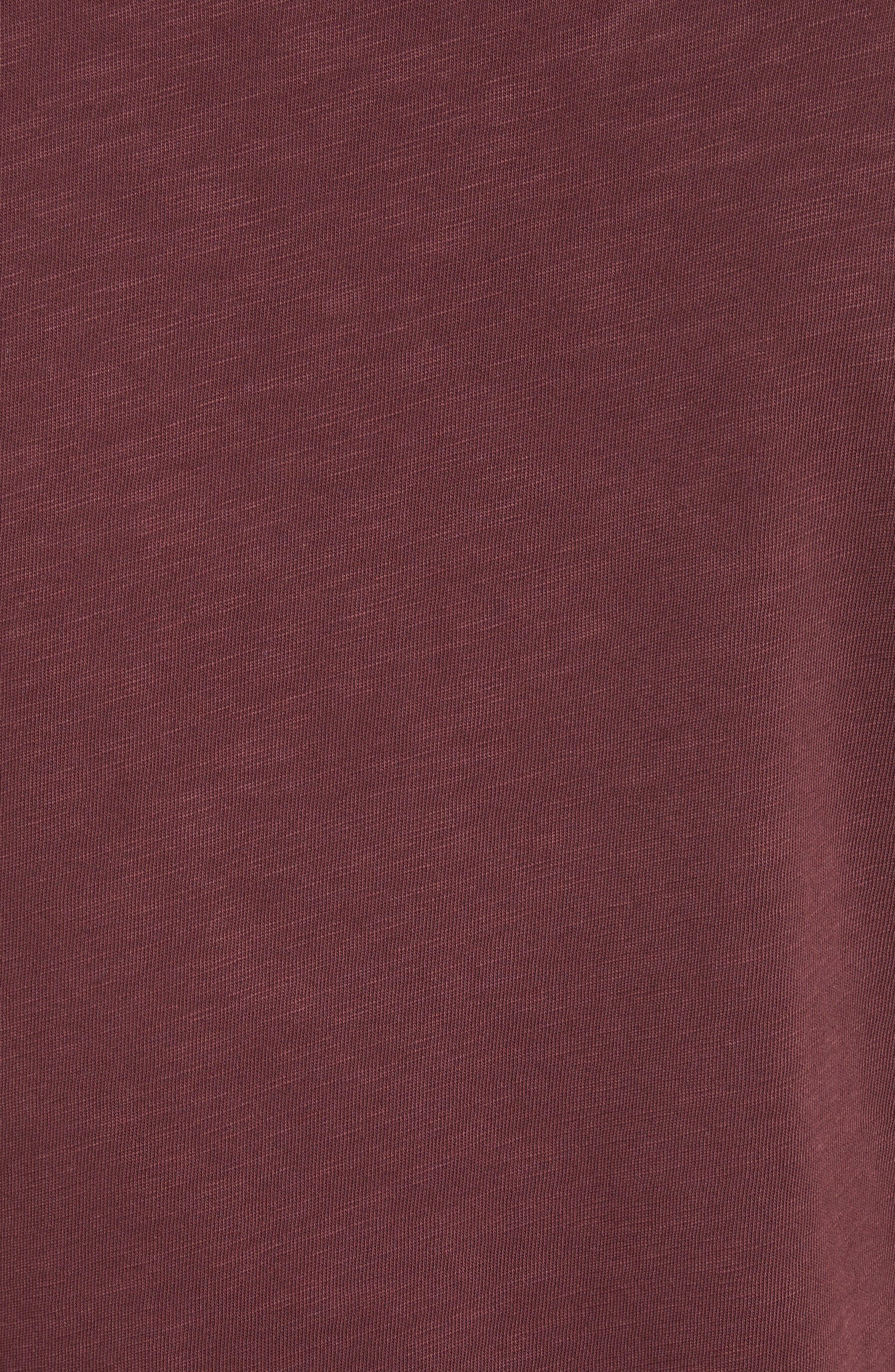 Alternate Image 5  - rag & bone Standard Issue Slub Jersey Polo