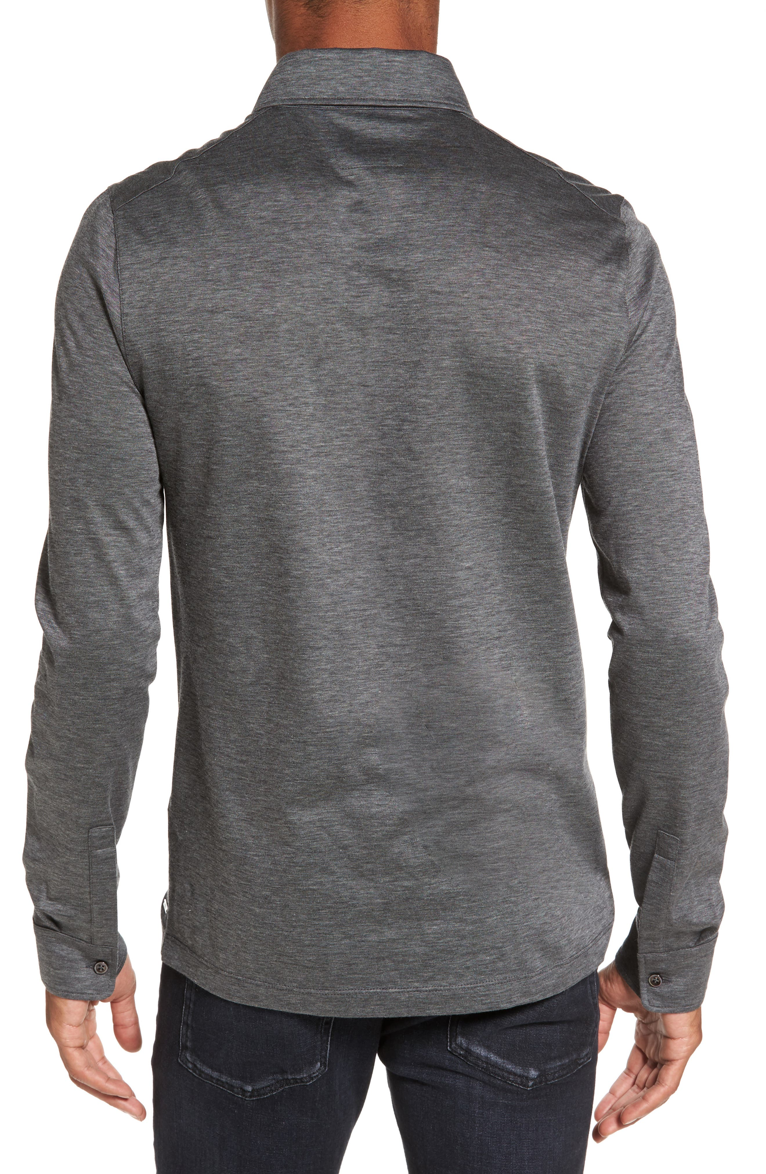 Alternate Image 2  - BOSS T-Morrison Slim Fit Long Sleeve Polo