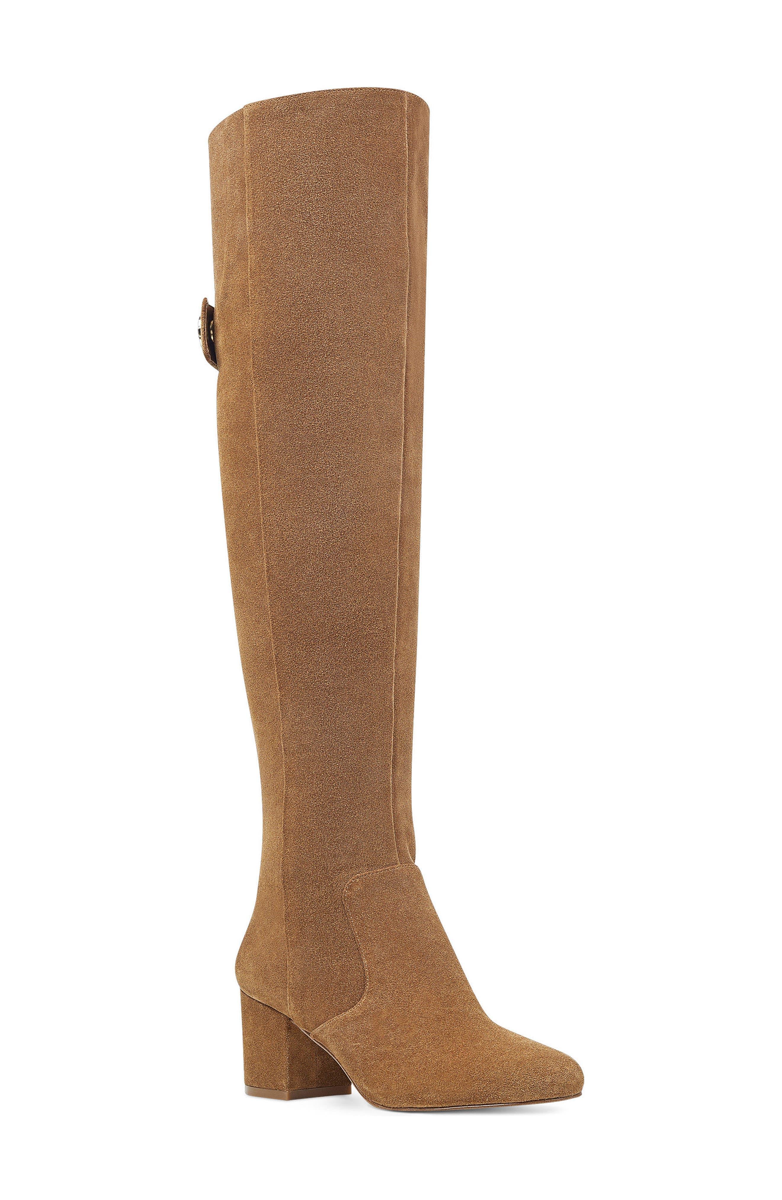 Nine West Queddy Over the Knee Boot (Women)