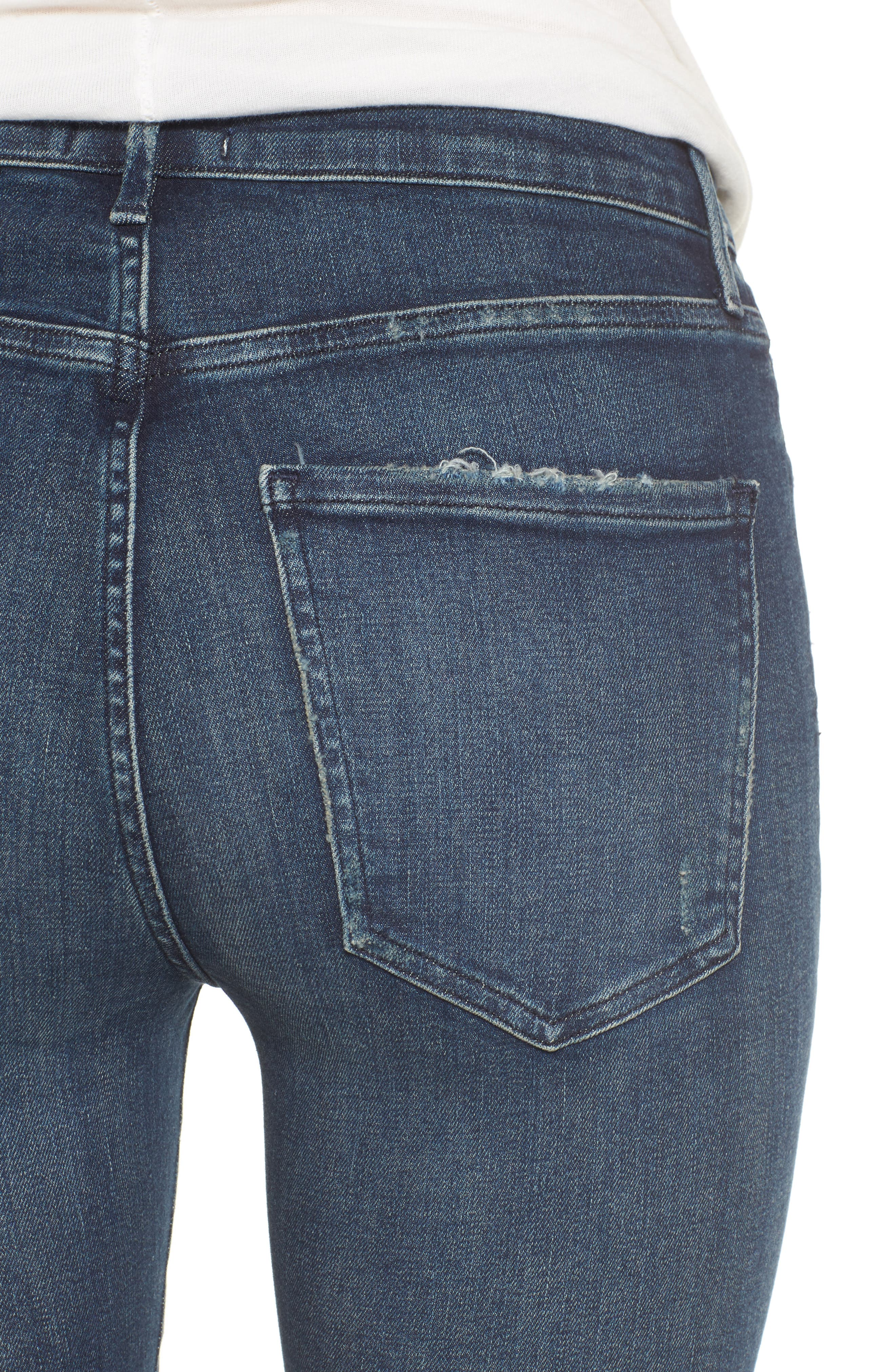 Alternate Image 4  - AGOLDE Sophie High Waist Skinny Jeans