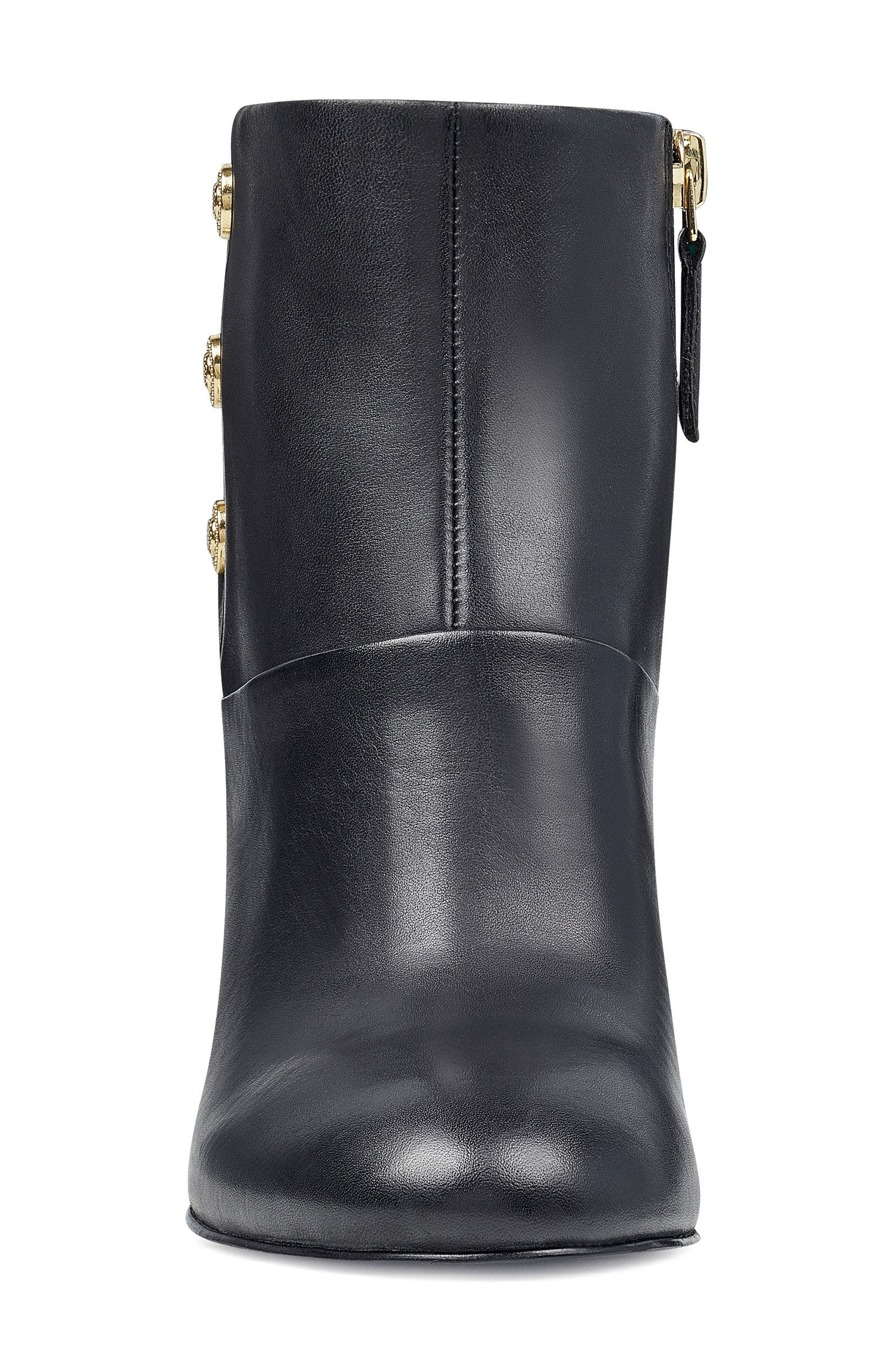 Kirtley Bootie,                             Alternate thumbnail 4, color,                             Black Leather