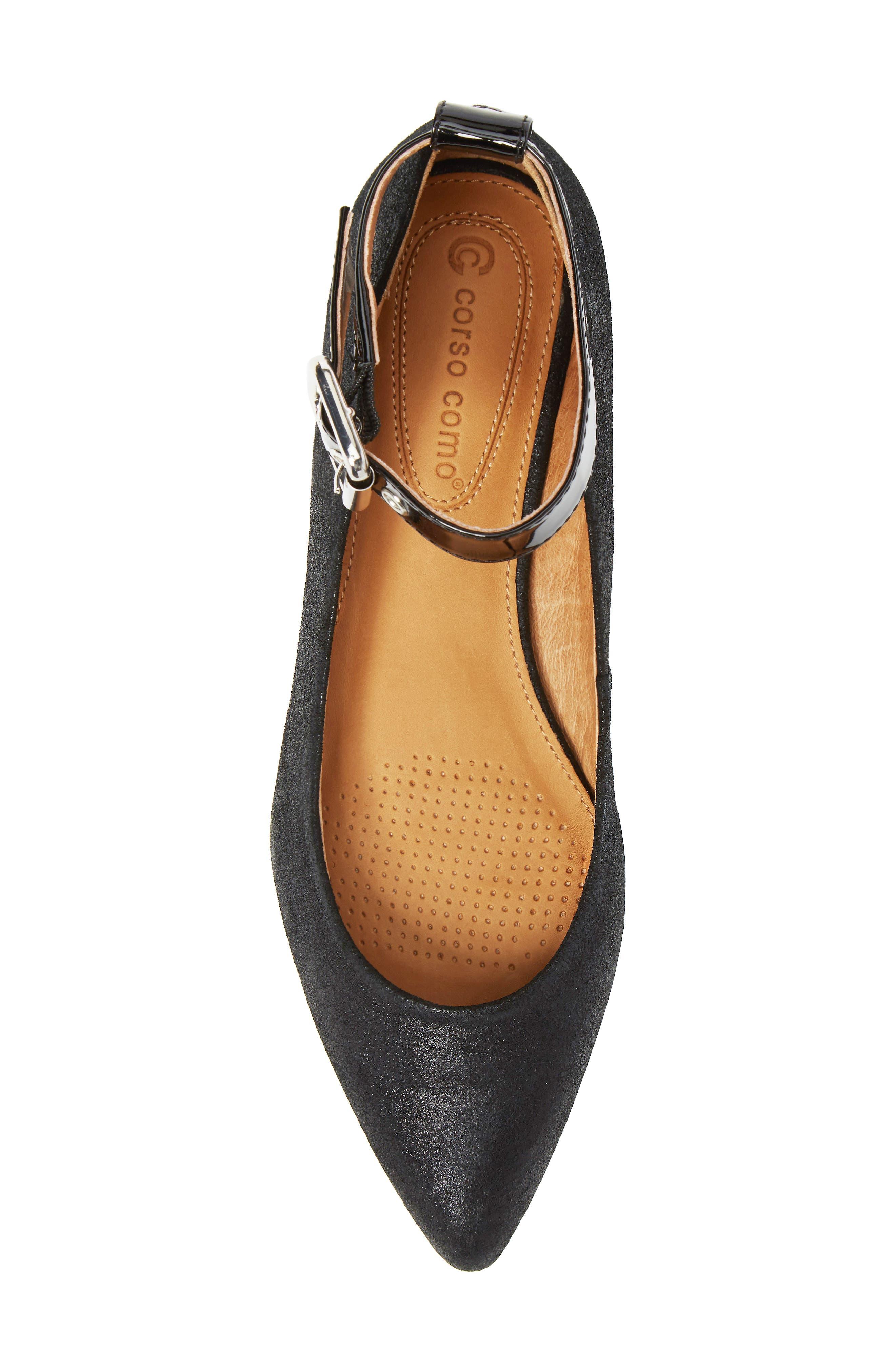 Alternate Image 5  - Corso Como Ramona Ankle Strap Flat (Women)