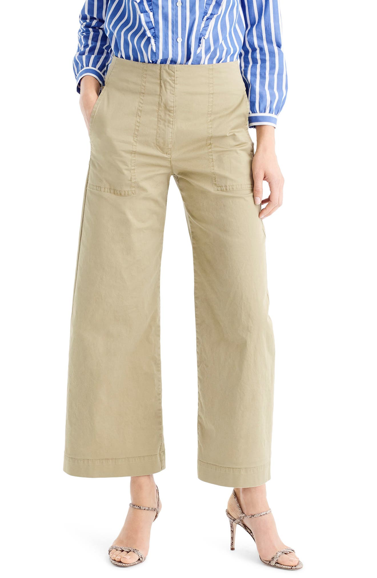 J.Crew Crop Stretch Chino Pants