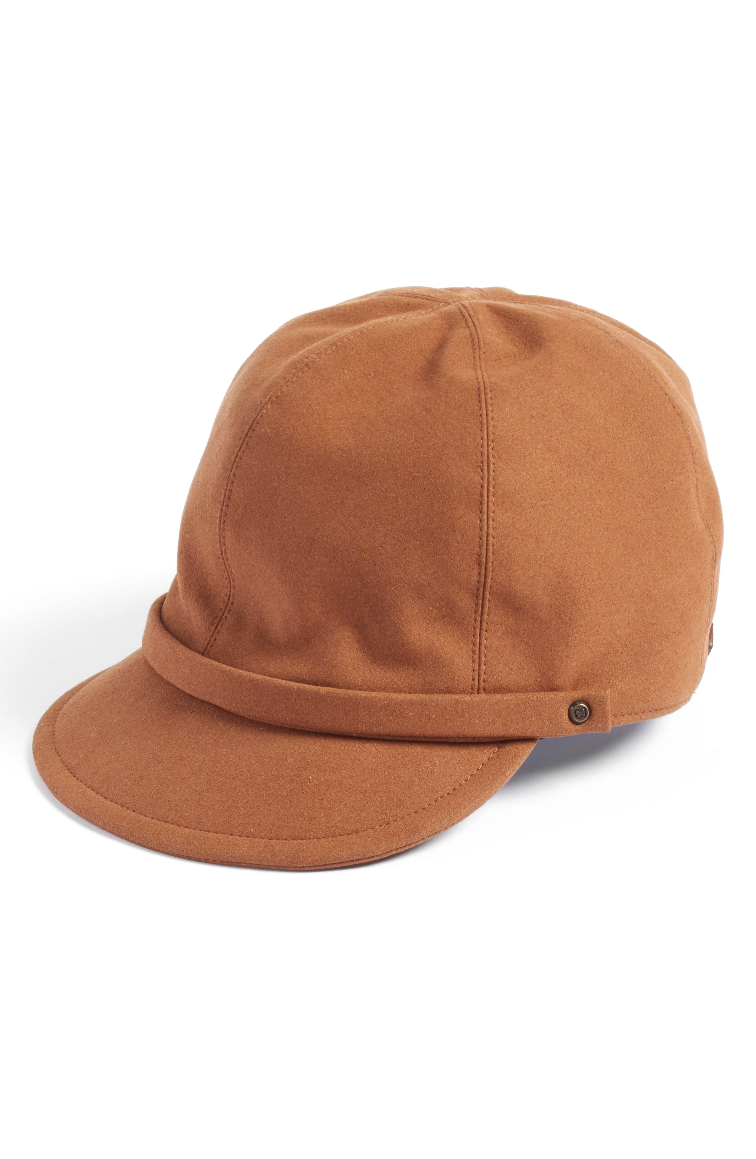 Alternate Image 1 Selected - Eric Javits Mika Packable Faux Suede Cap