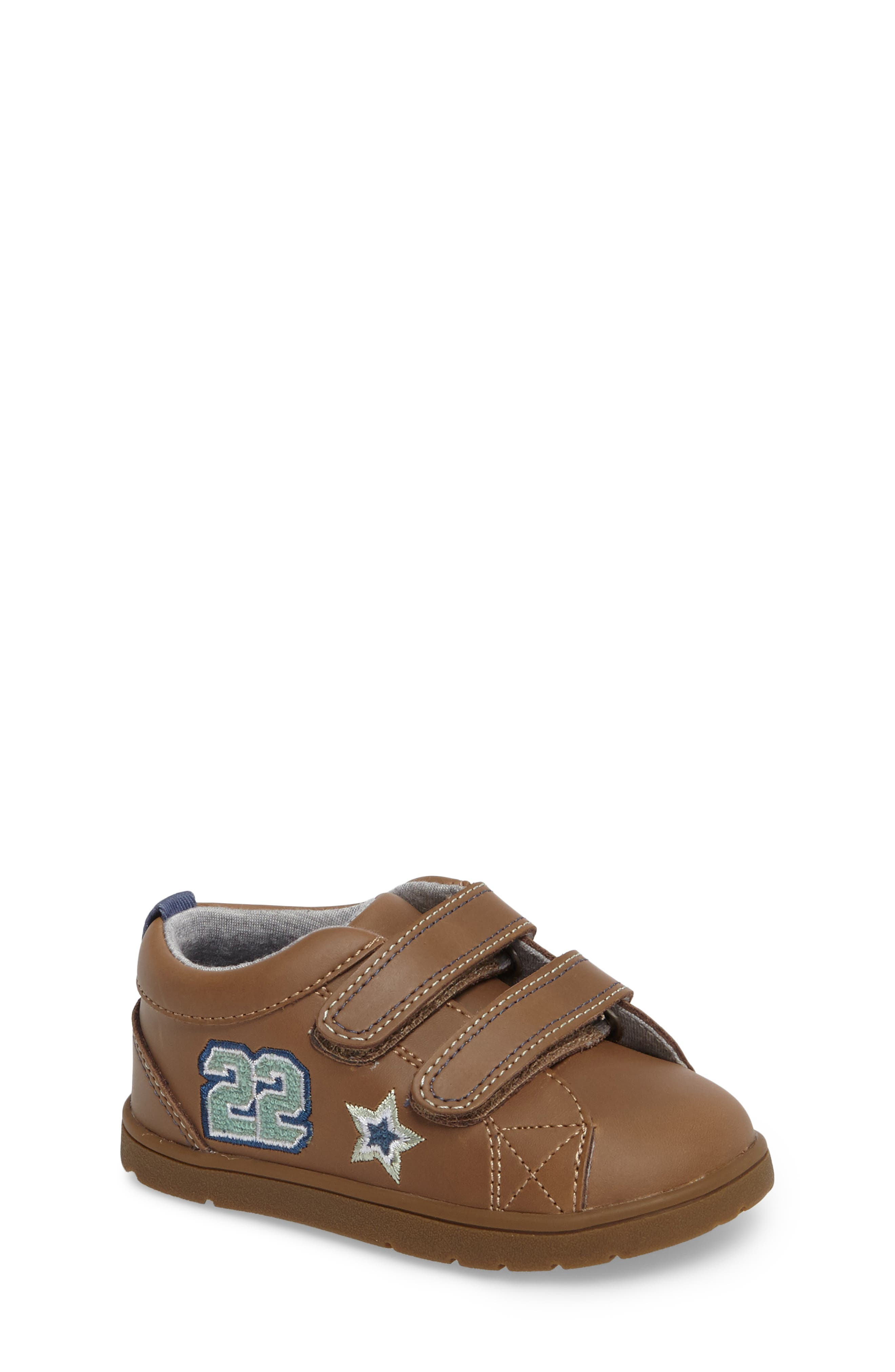 Main Image - Tucker + Tate Conner Embroidered Sneaker (Baby, Walker & Toddler)