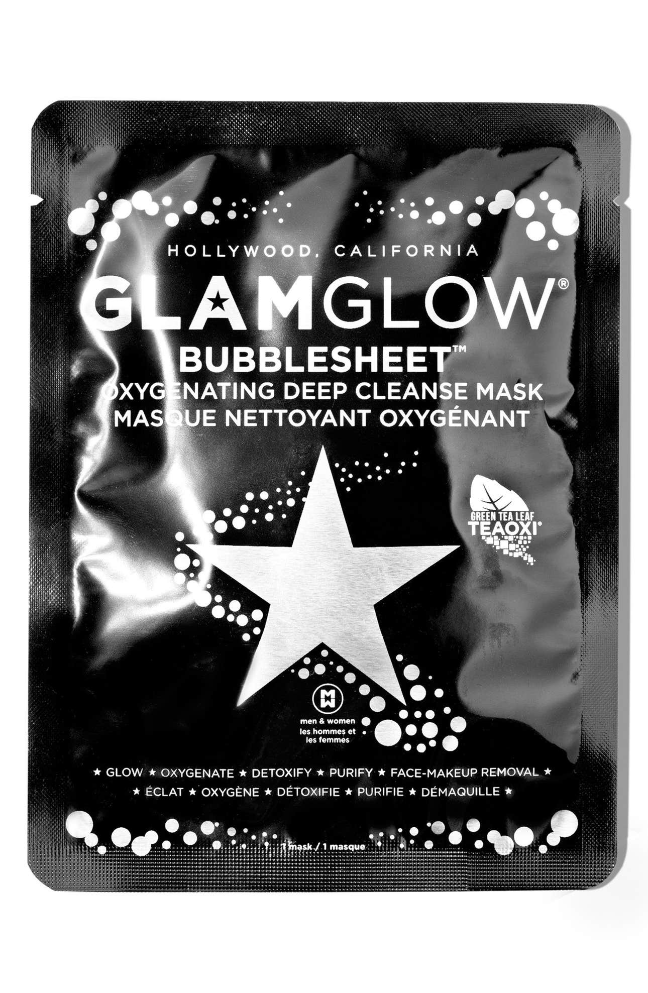 GLAMGLOW® BUBBLESHEET™ Oxygenating Deep Cleanse Mask