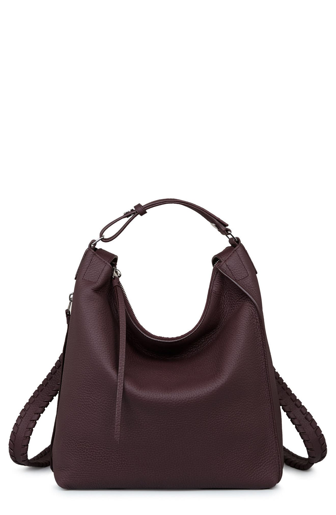 Alternate Image 1 Selected - ALLSAINTS Small Kita Convertible Leather Backpack