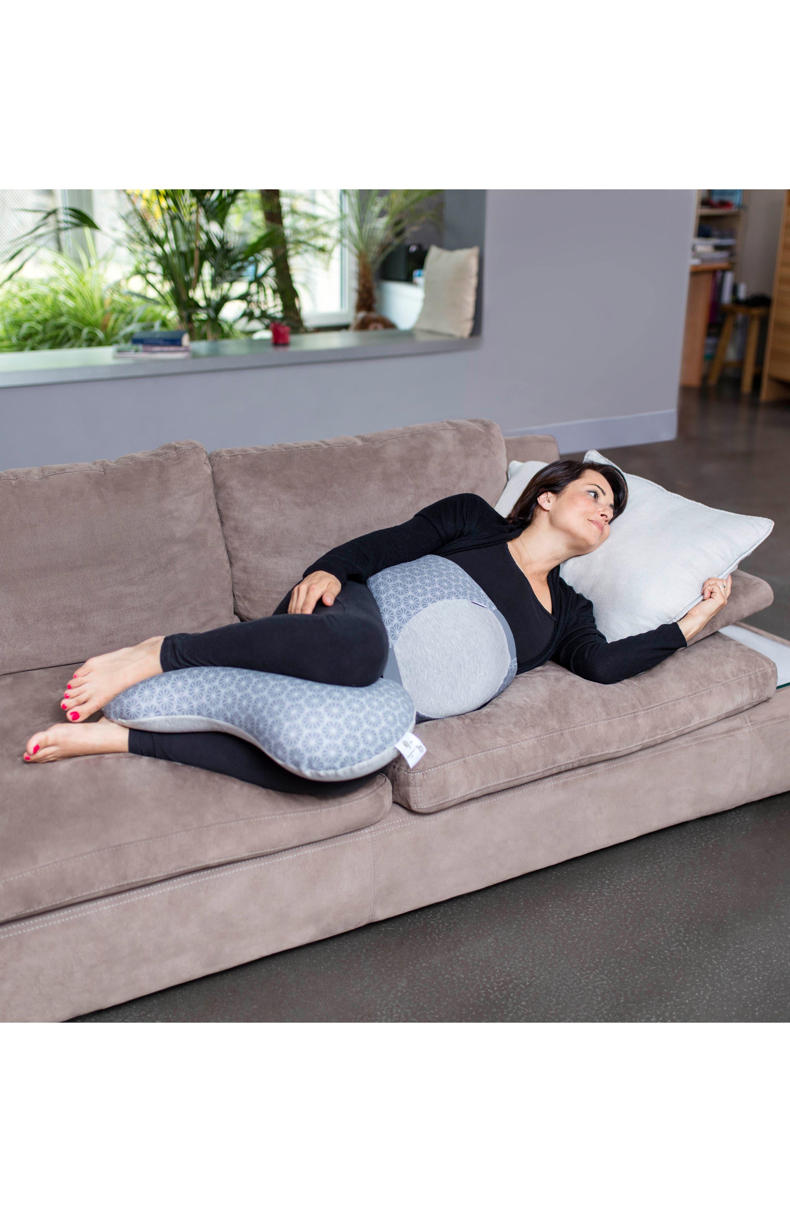 Multiuse Ergonomic Maternity Pillow,                             Alternate thumbnail 6, color,                             Dotwork