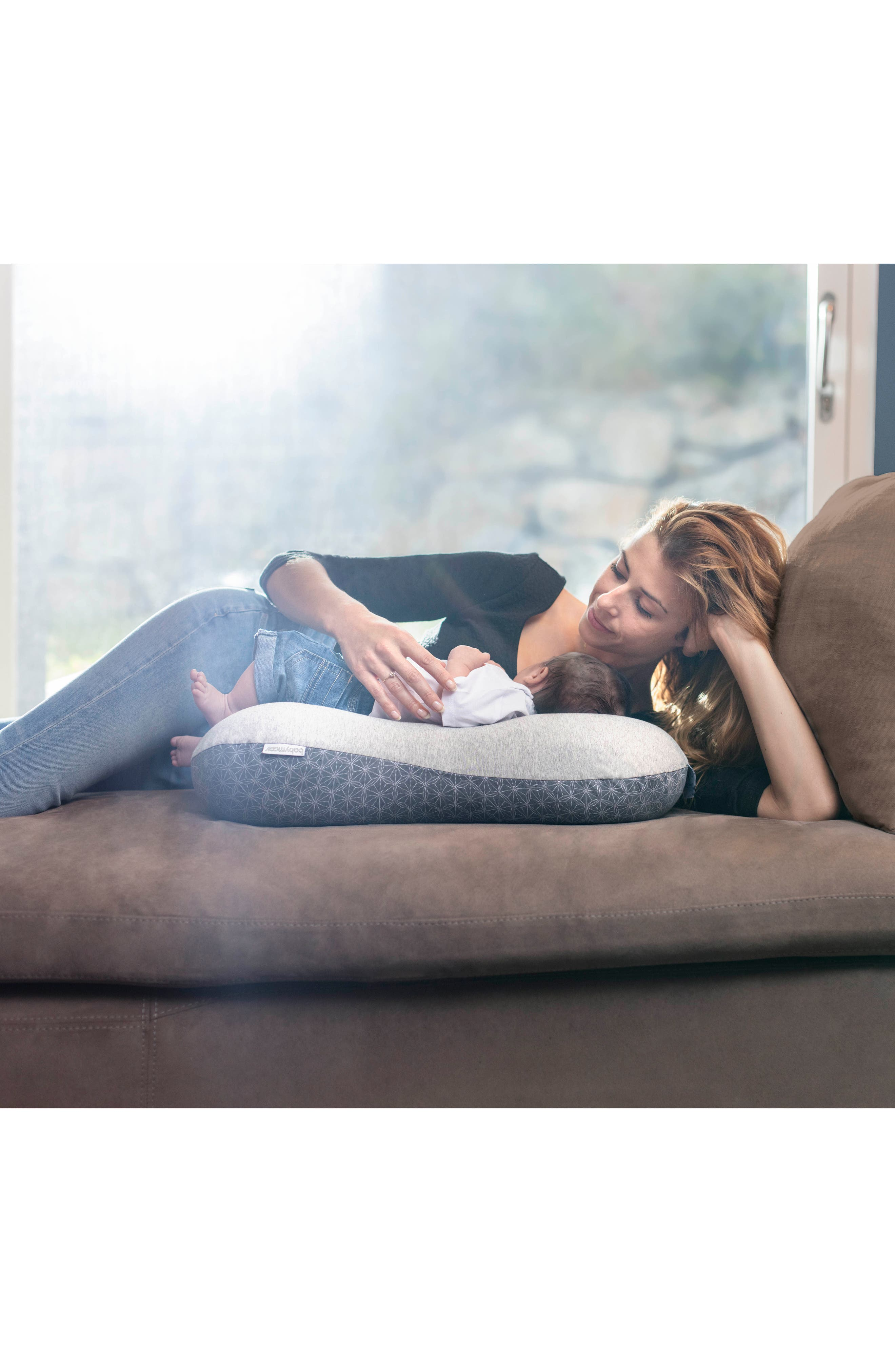 Multiuse Ergonomic Maternity Pillow,                             Alternate thumbnail 10, color,                             Dotwork