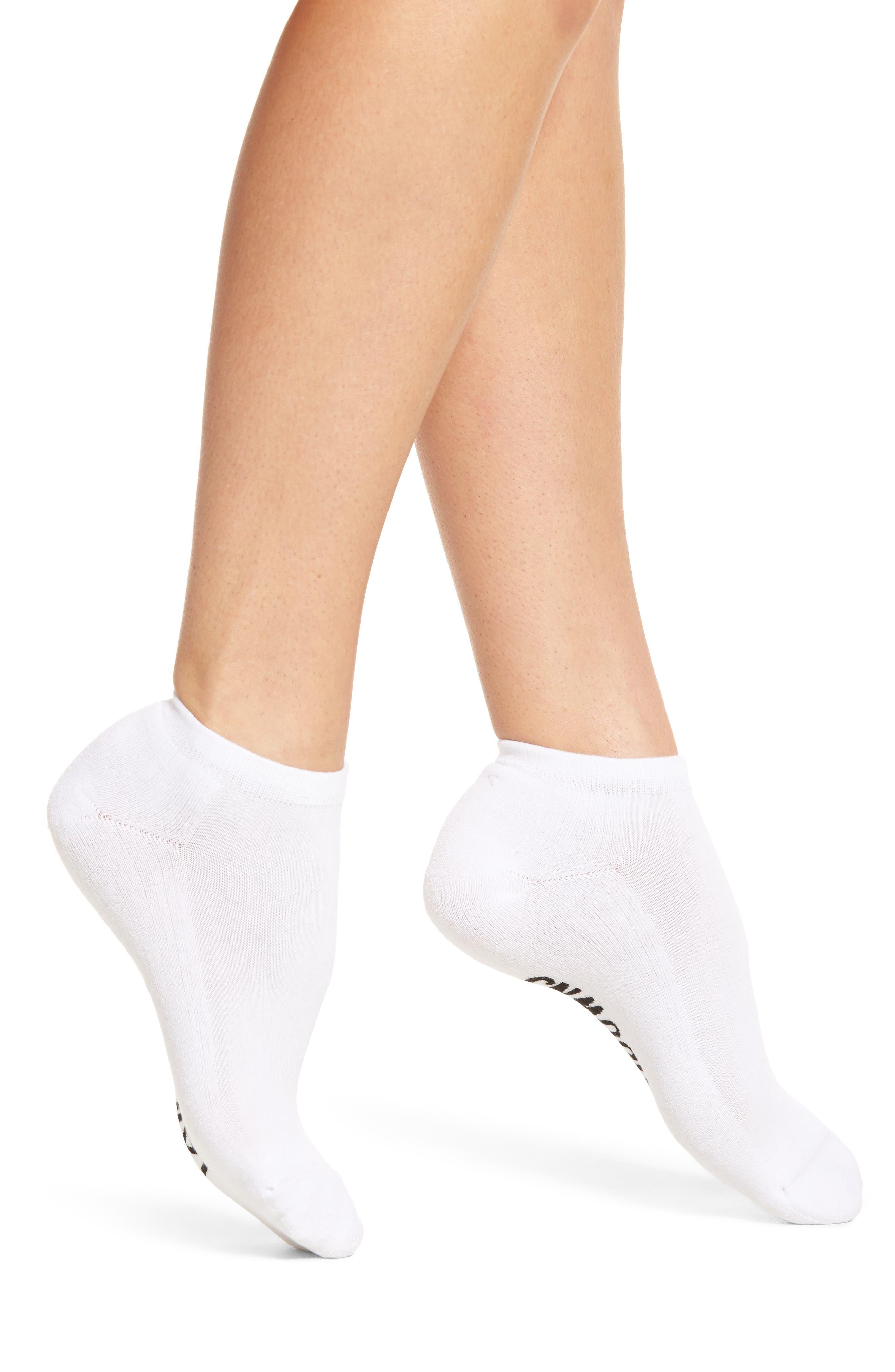 Tailgates & Touchdowns Ankle Socks,                             Alternate thumbnail 2, color,                             White