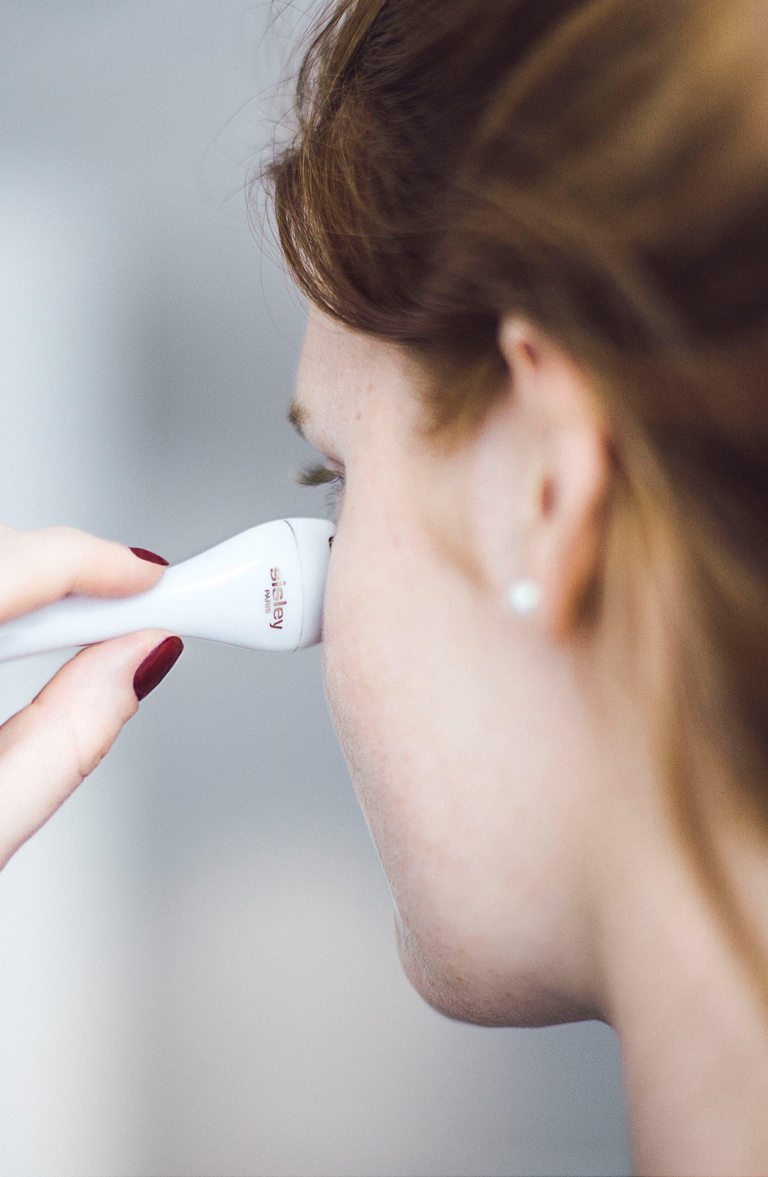 Sisleÿa L'Intégral Anti-Age Eye & Lip Contour Cream & Massage Tool,                             Alternate thumbnail 5, color,                             No Color