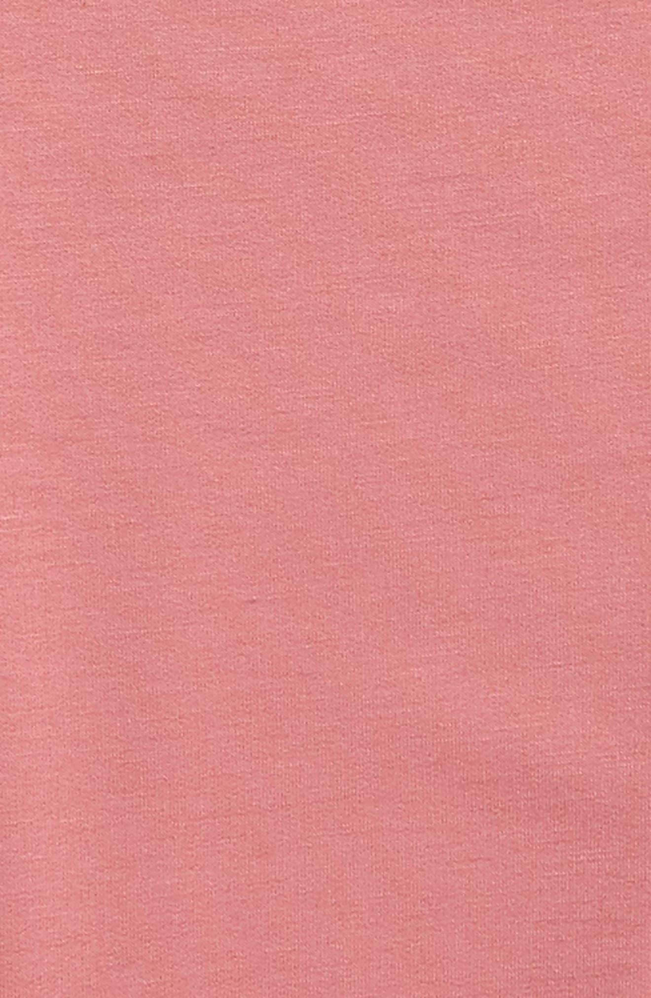 Tiered Sleeve Sweatshirt,                             Alternate thumbnail 2, color,                             Mauve