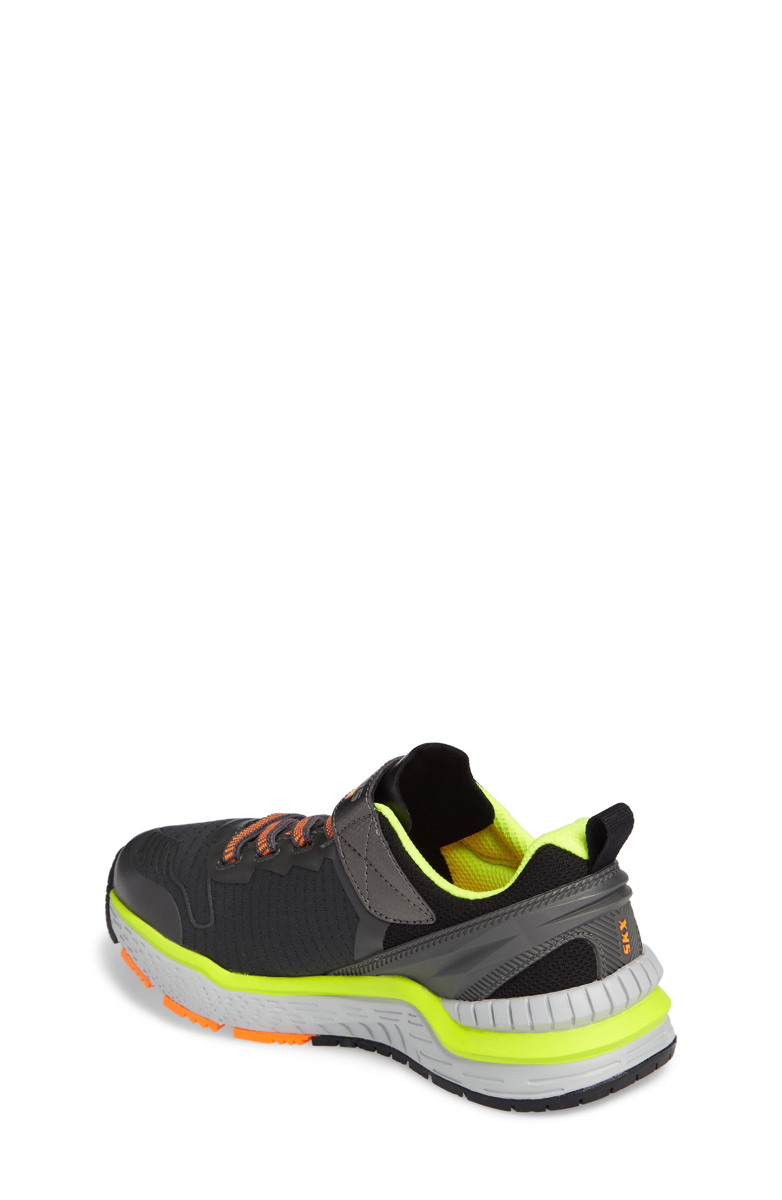 Hyperjolt Sneaker,                             Alternate thumbnail 2, color,                             Charcoal/ Black/ Lime