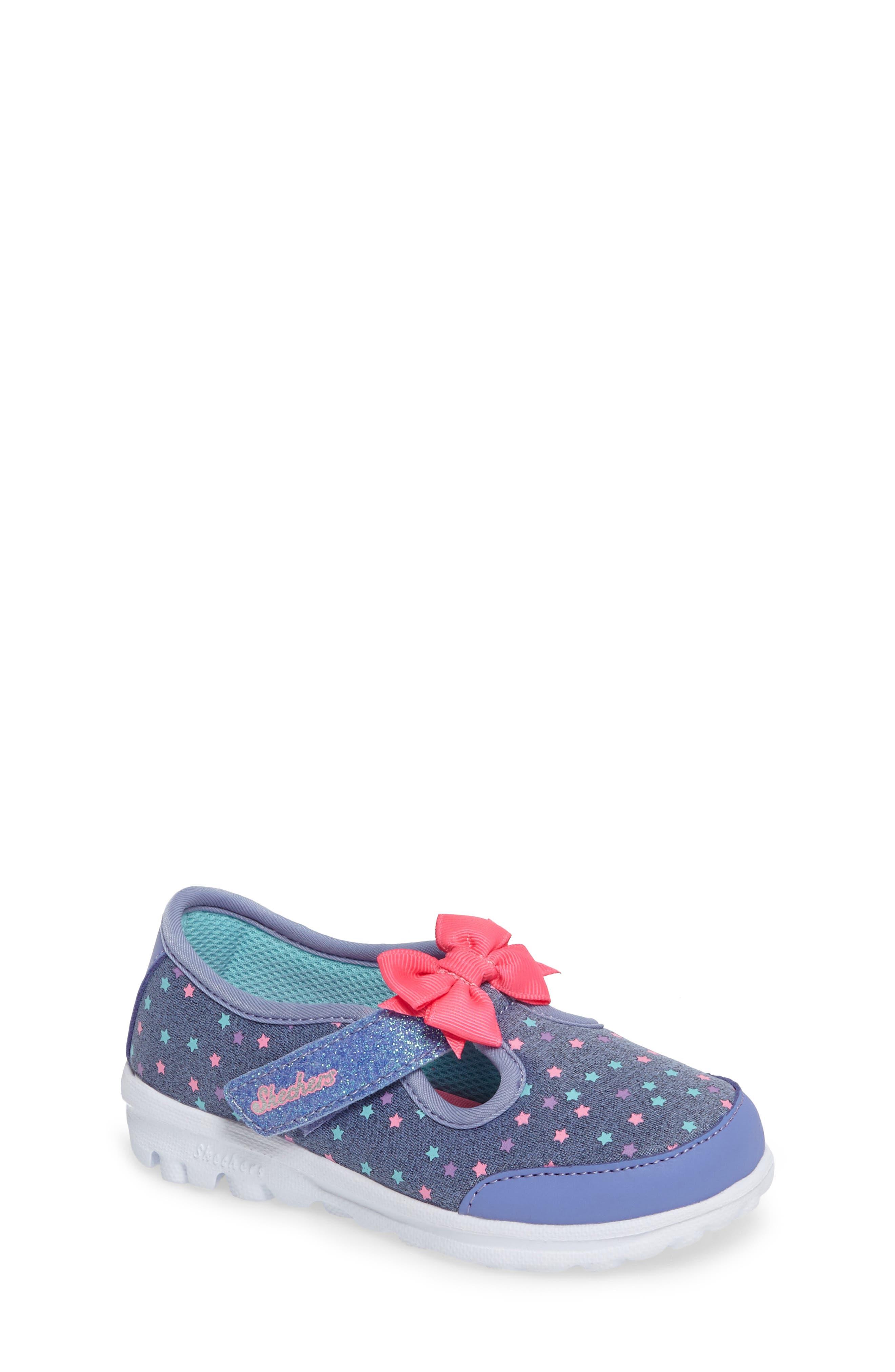 Alternate Image 1 Selected - SKECHERS Go Walk Slip-On Sneaker (Baby, Walker, Toddler & Little Kid)