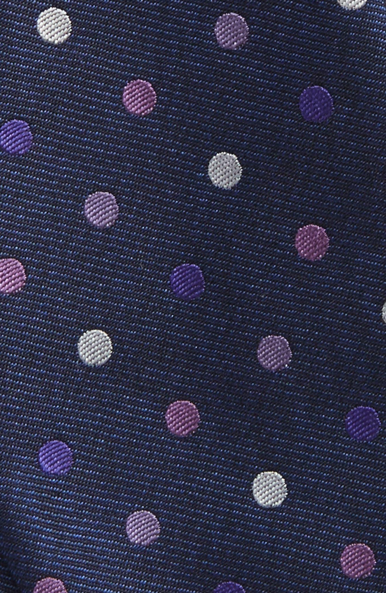 Alternate Image 3  - The Tie Bar Spree Dot Silk Bow Tie