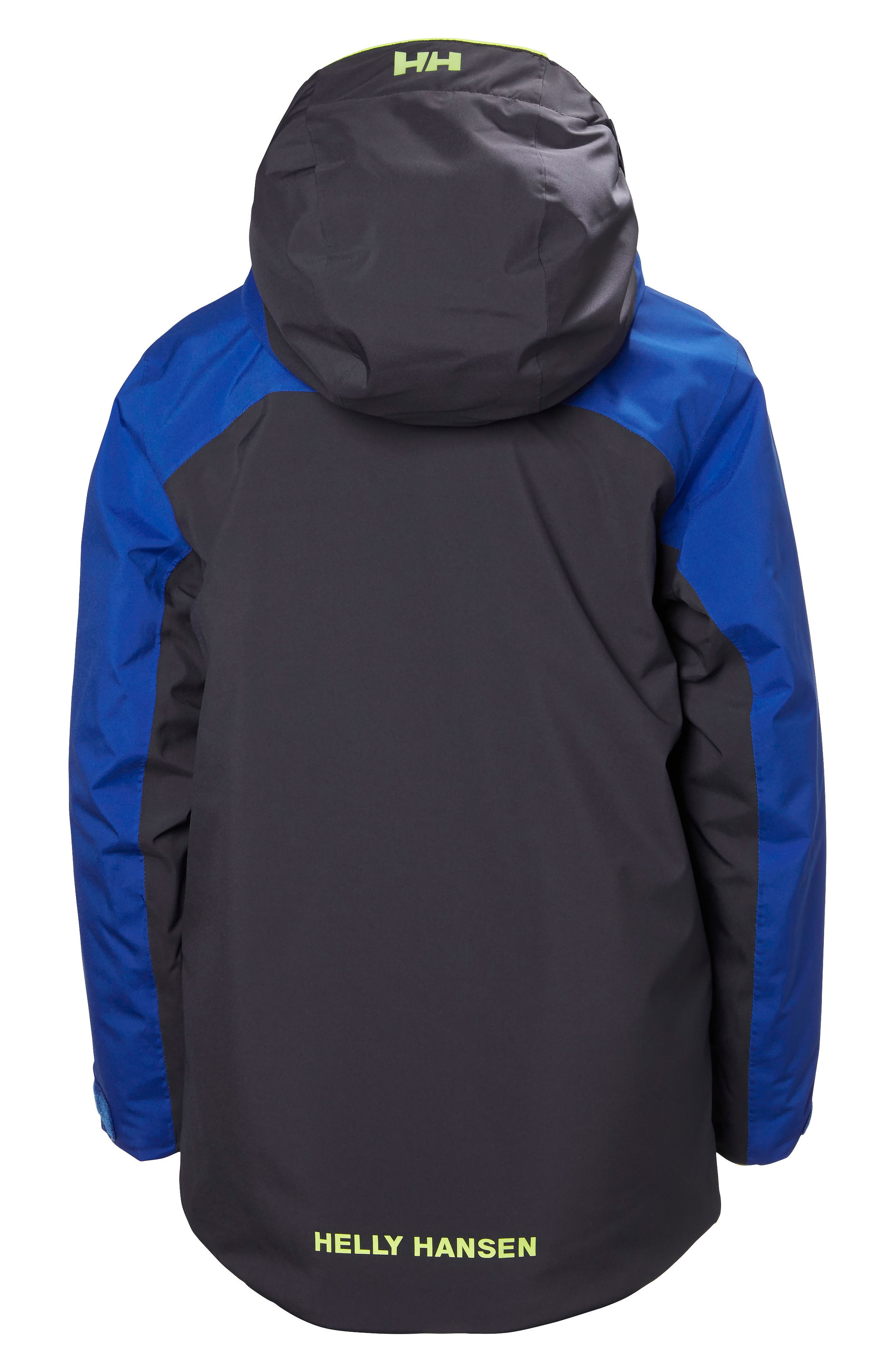 Univers Waterproof Insulated Hooded Jacket,                             Alternate thumbnail 2, color,                             Graphite Blue