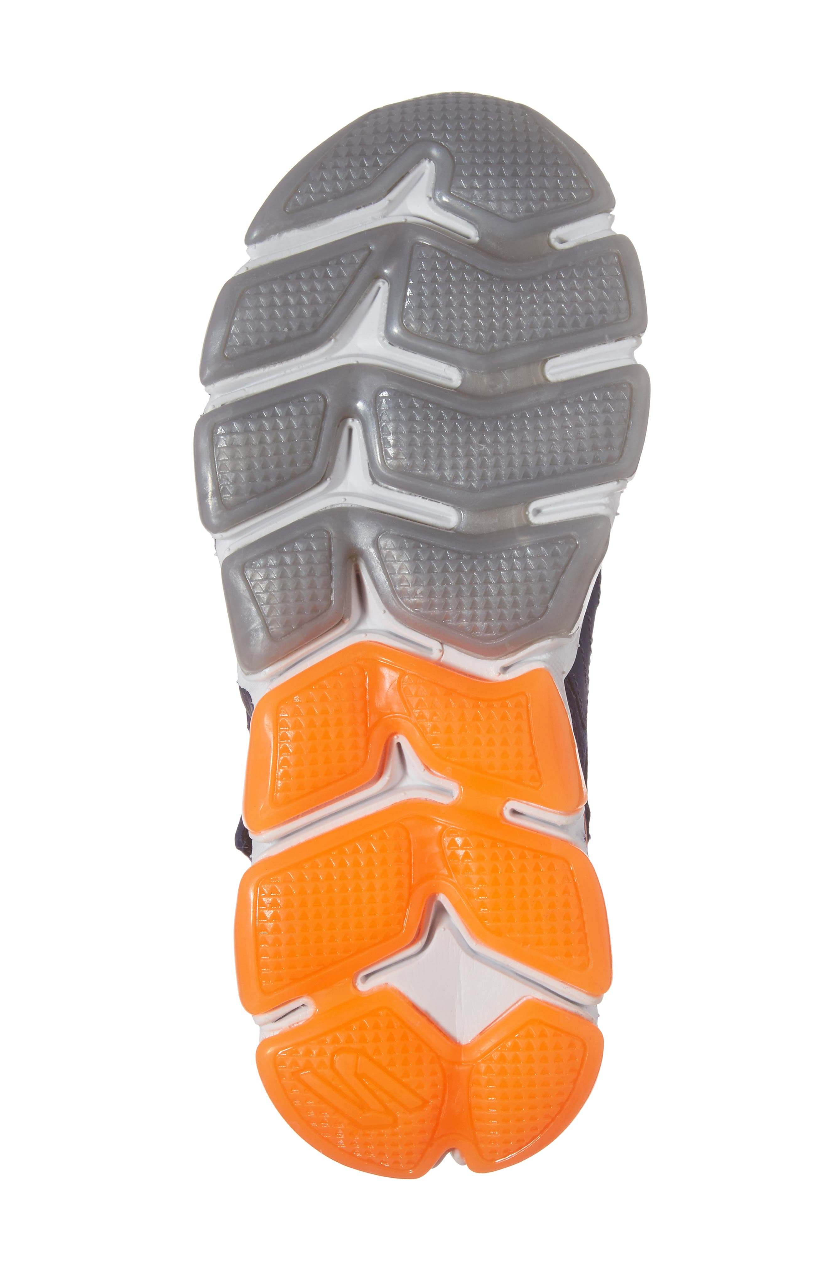 Skech-Air 3.0 Downswitch Sneaker,                             Alternate thumbnail 6, color,                             Navy/ Orange