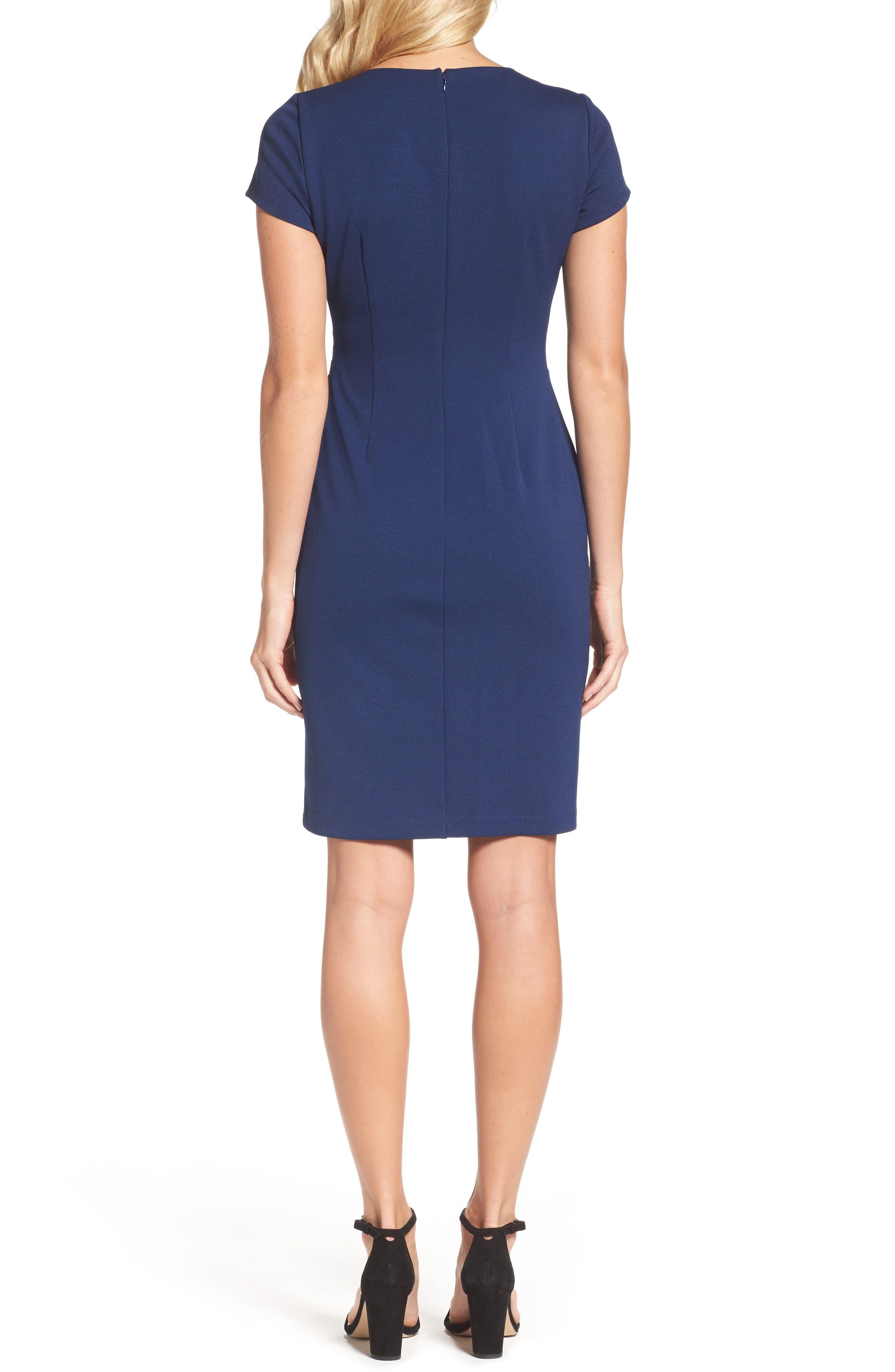 Alternate Image 2  - Adrianna Papell Stripe Sheath Dress