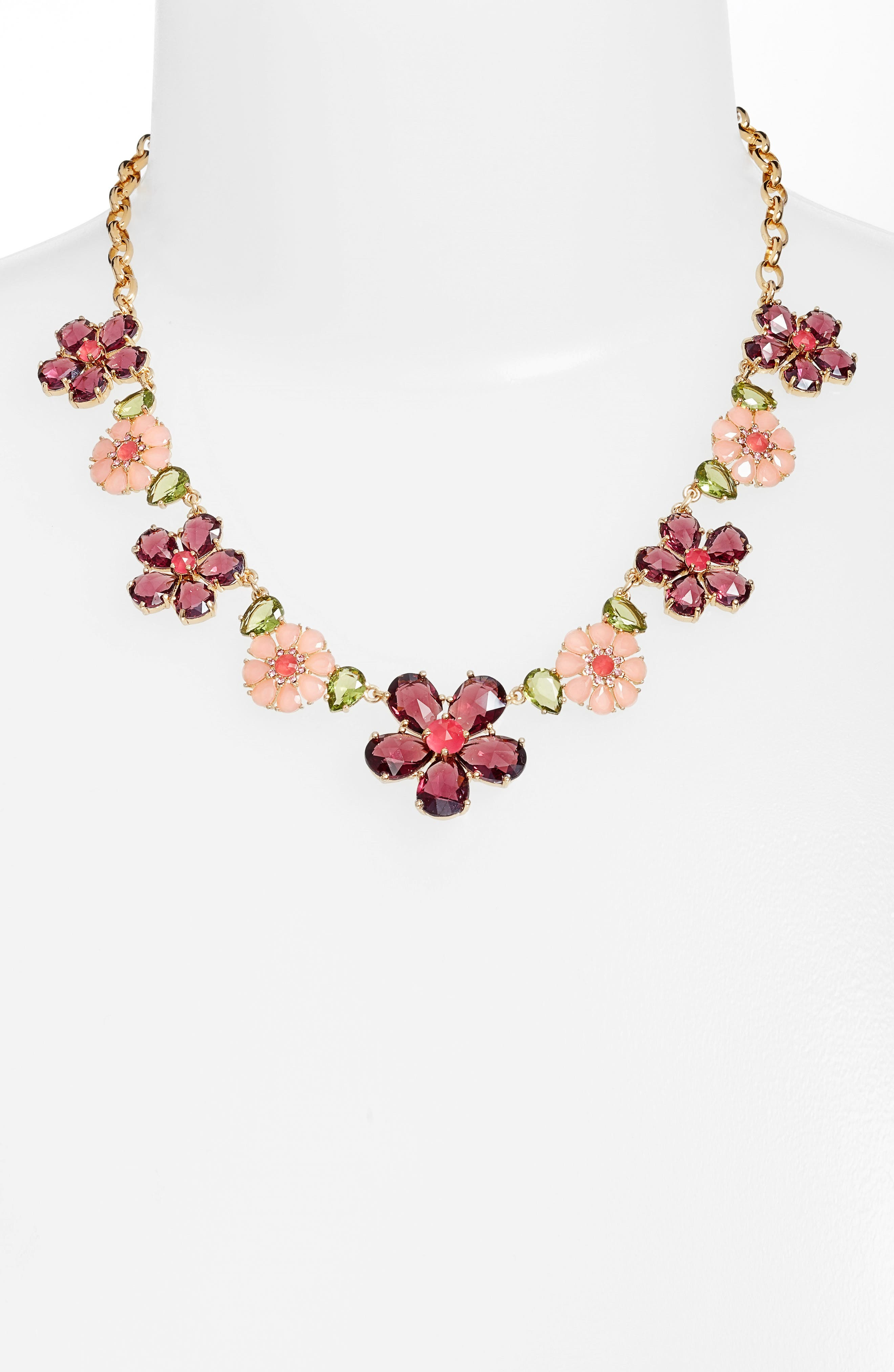 kate spade new york in full bloom collar necklace