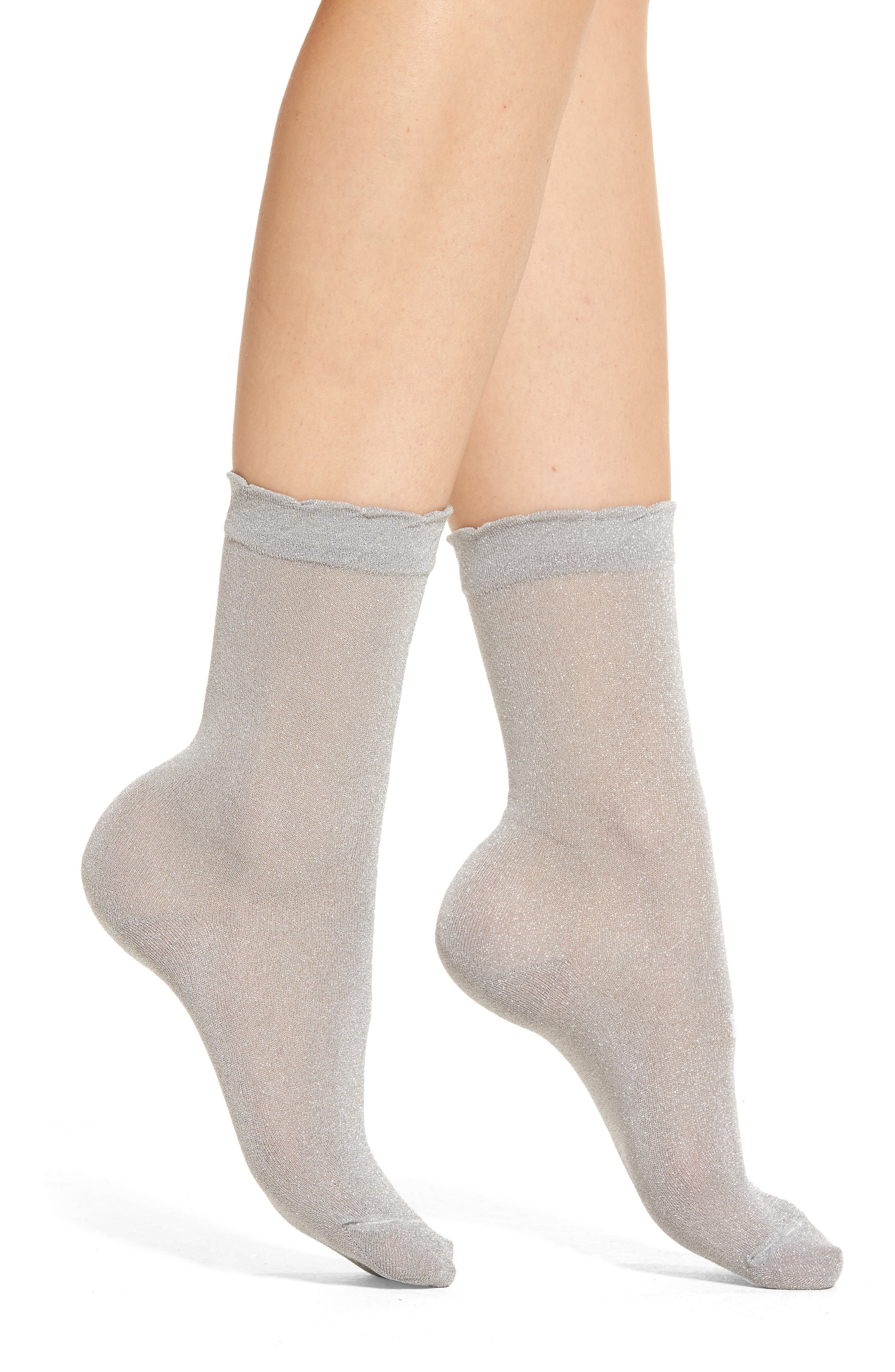 kate spade new york sparkle trouser socks (3 for $24)