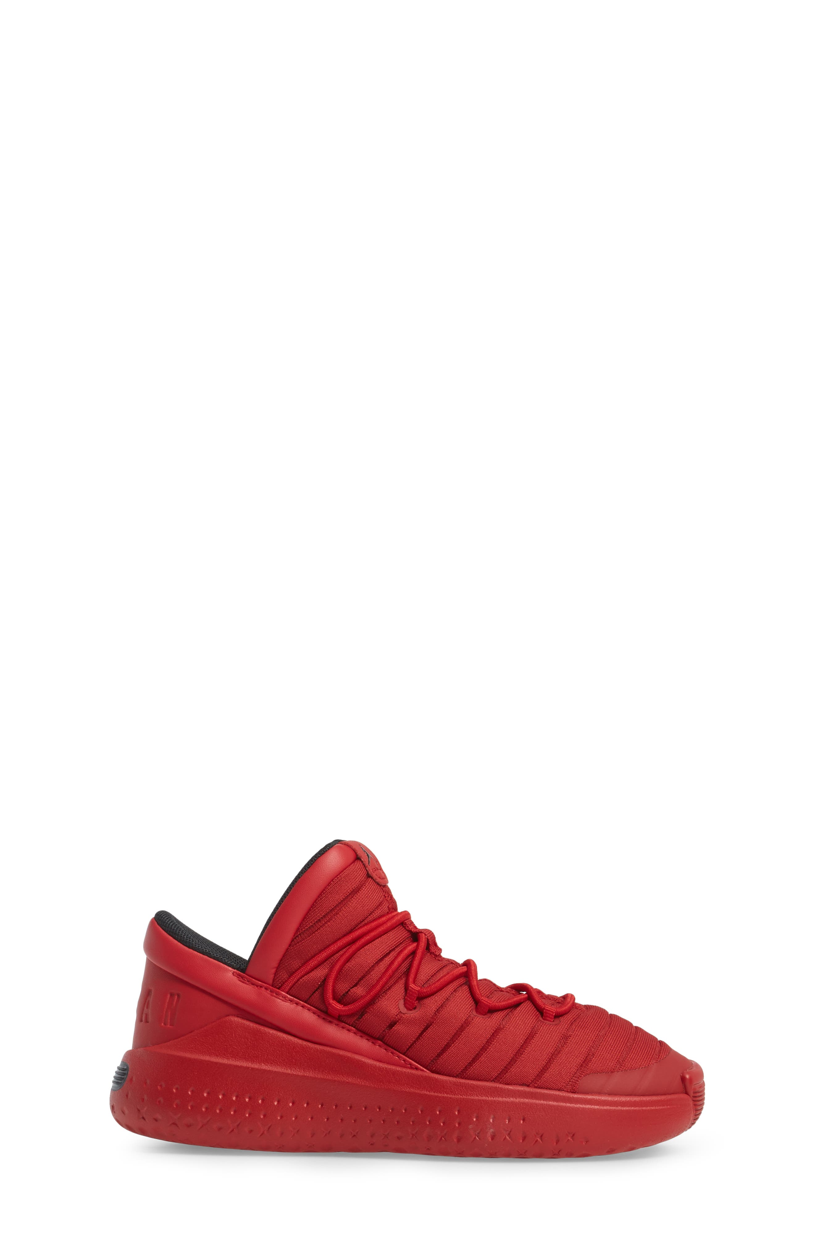 Flight Luxe Sneaker,                             Alternate thumbnail 3, color,                             Gym Red/ Black