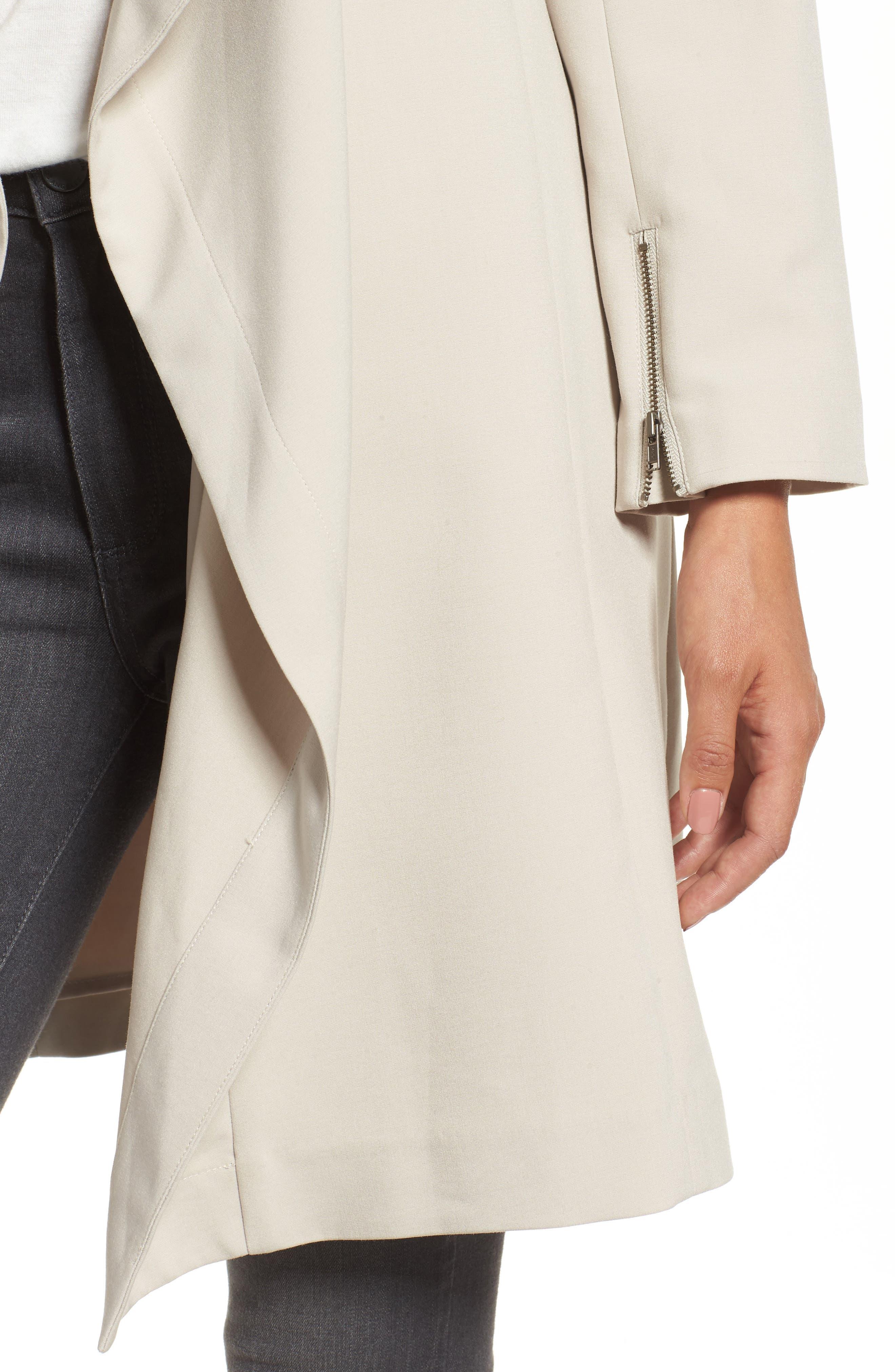 Alternate Image 4  - Halogen® Drape Jacket