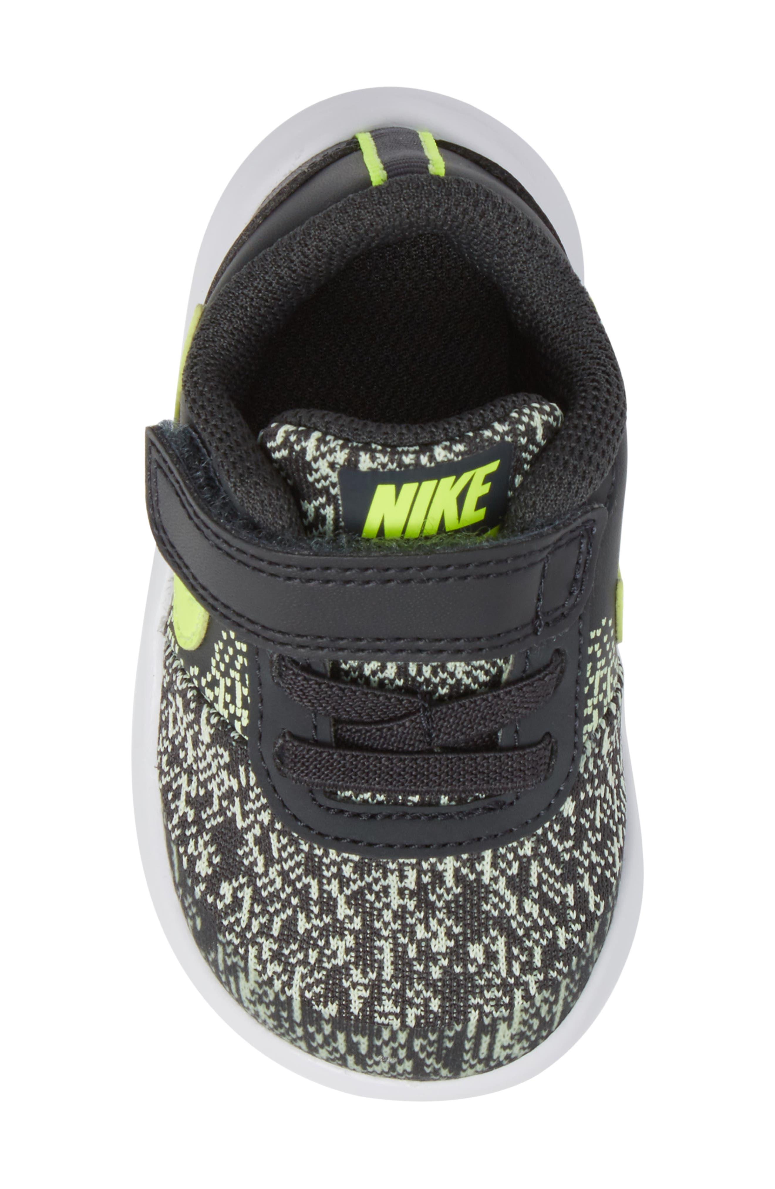 Alternate Image 5  - Nike Flex Contact Sneaker (Baby, Walker & Toddler)