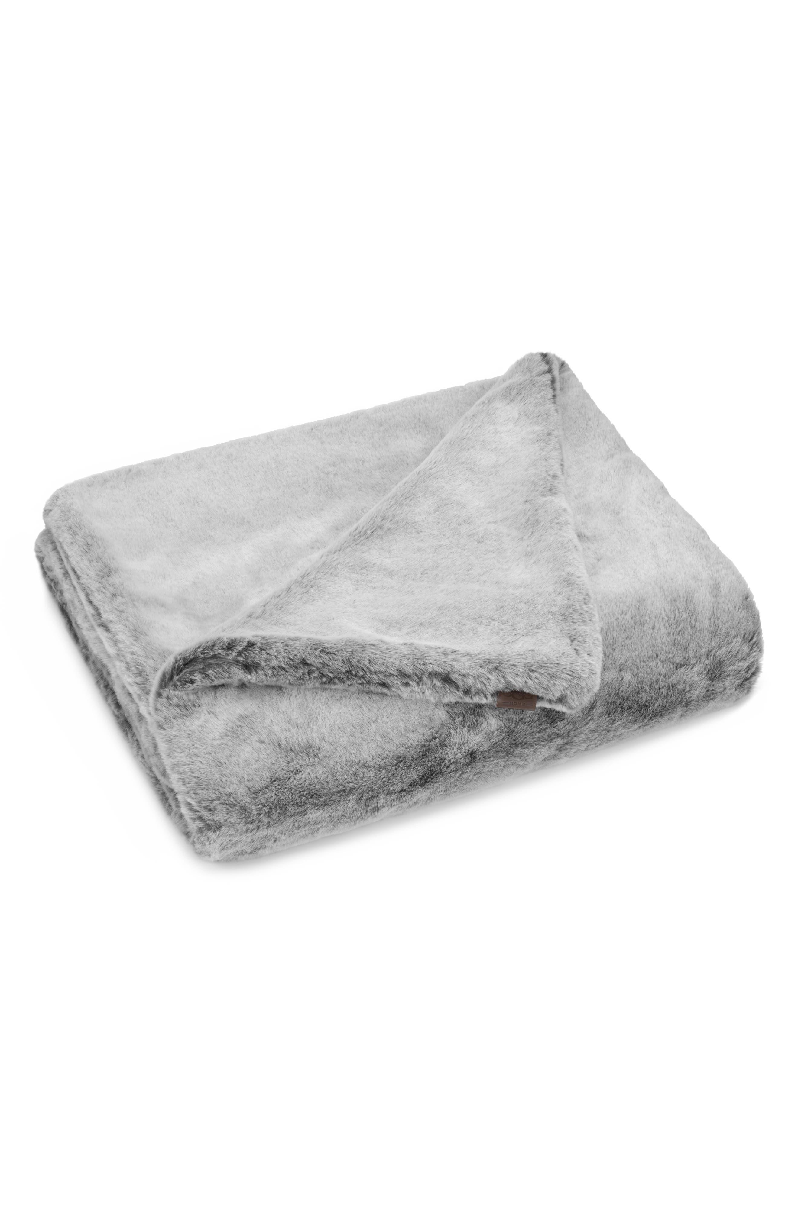 Main Image - UGG® Dream Faux Fur Throw