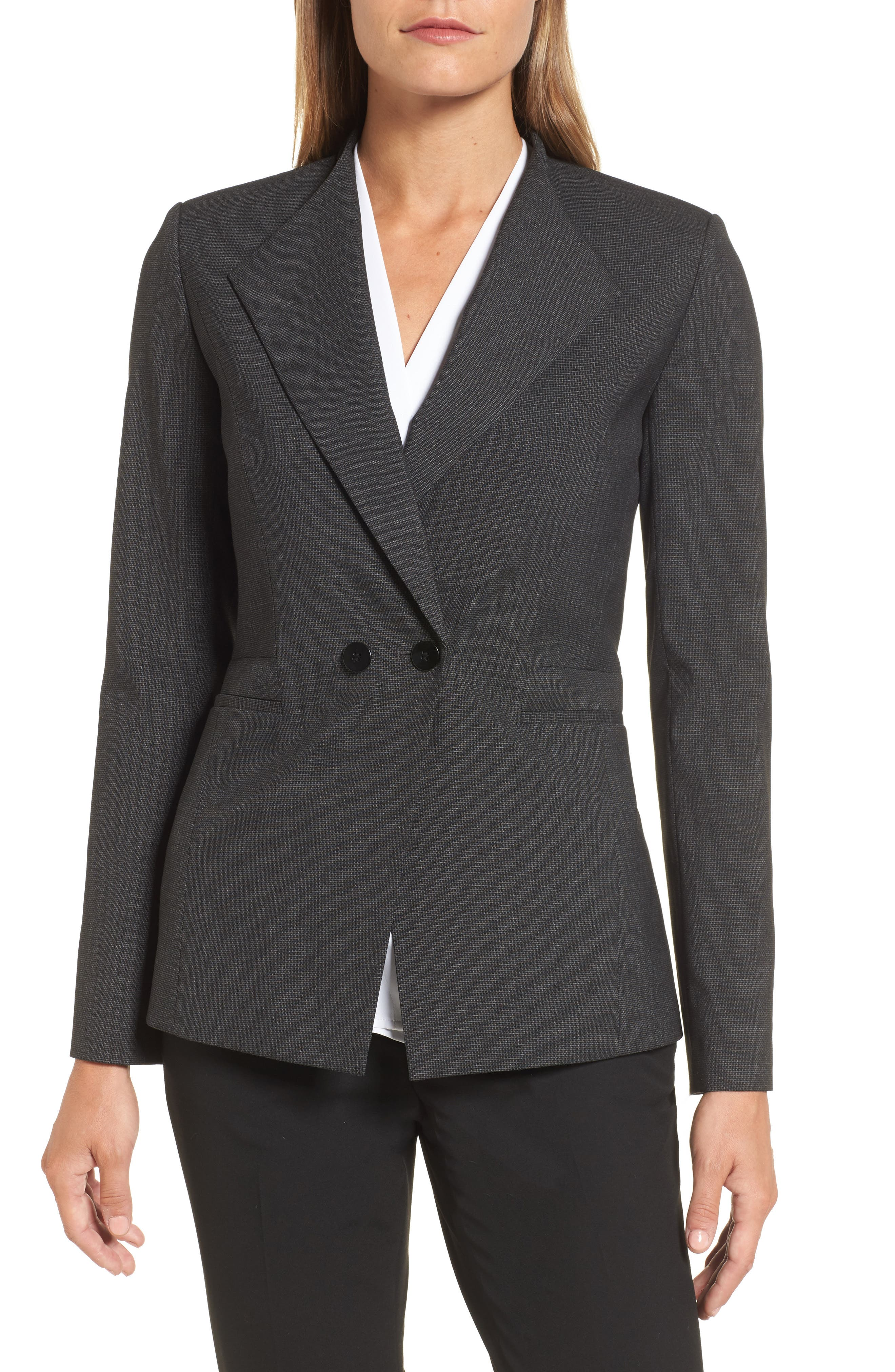 Emerson Rose Double Breasted Suit Jacket