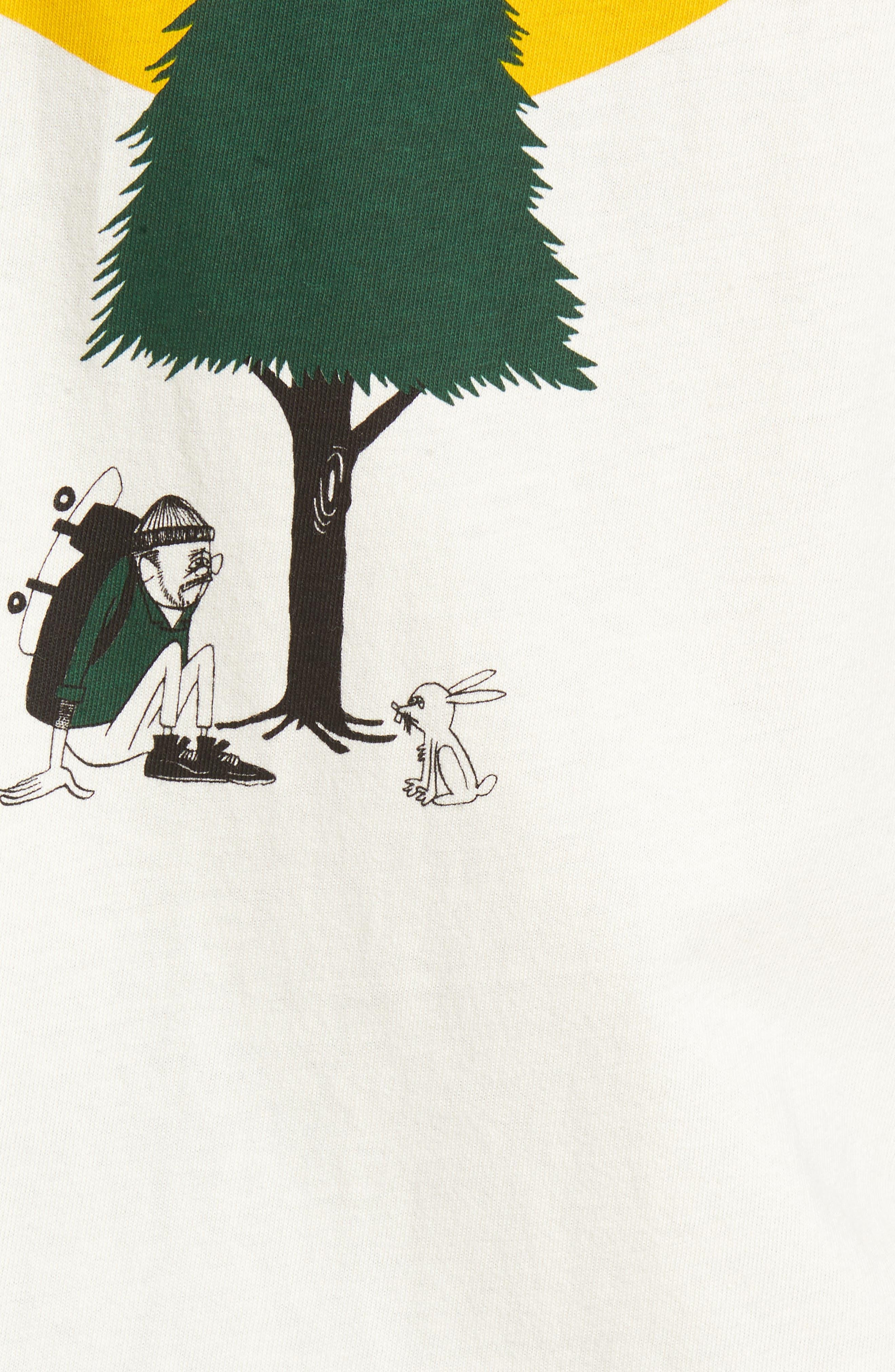 Alternate Image 5  - Vans x Yusuke Hanai Outdoors Graphic Pocket T-Shirt