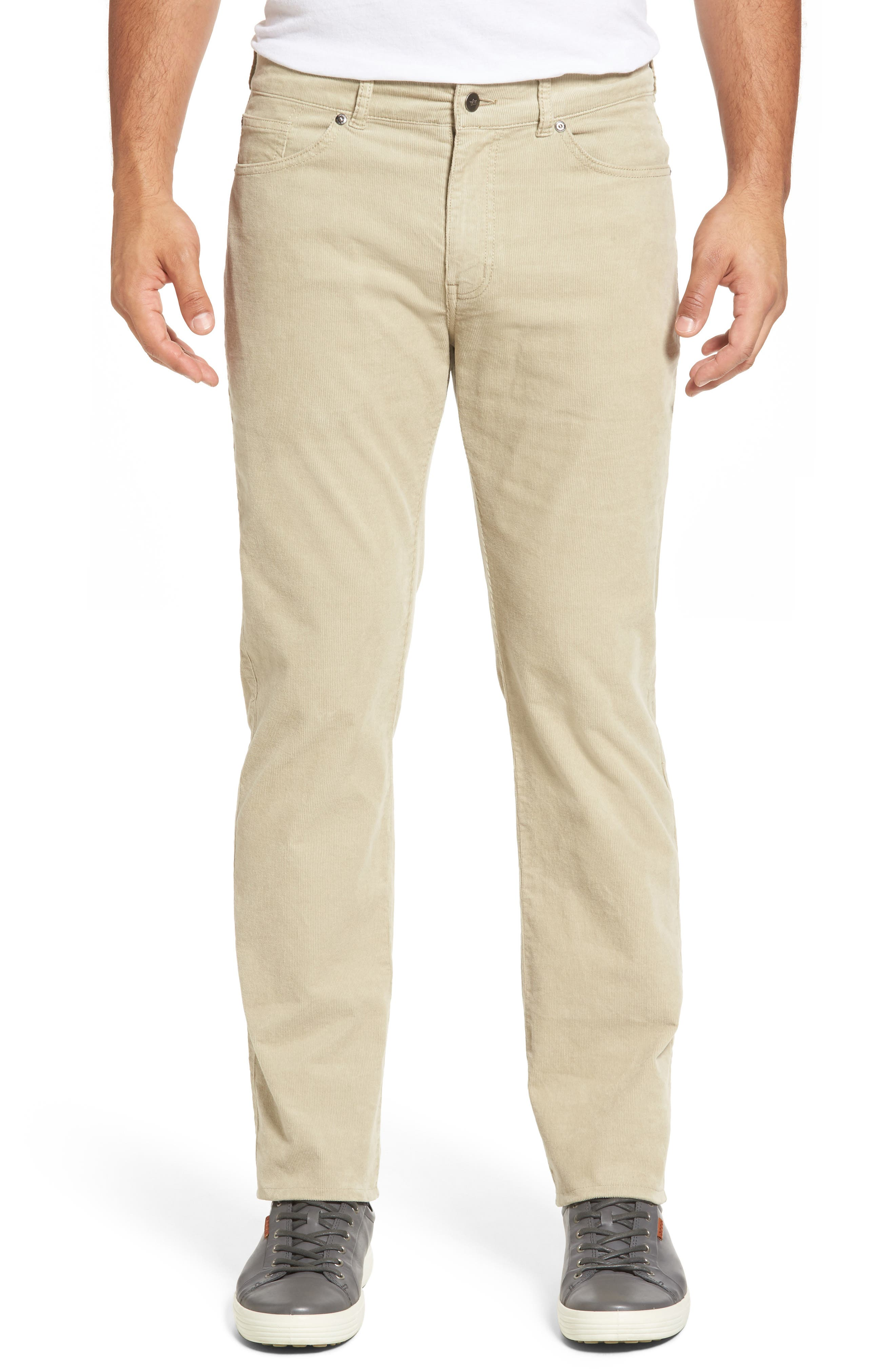 PETER MILLAR Five-Pocket Stretch Corduroy Pants