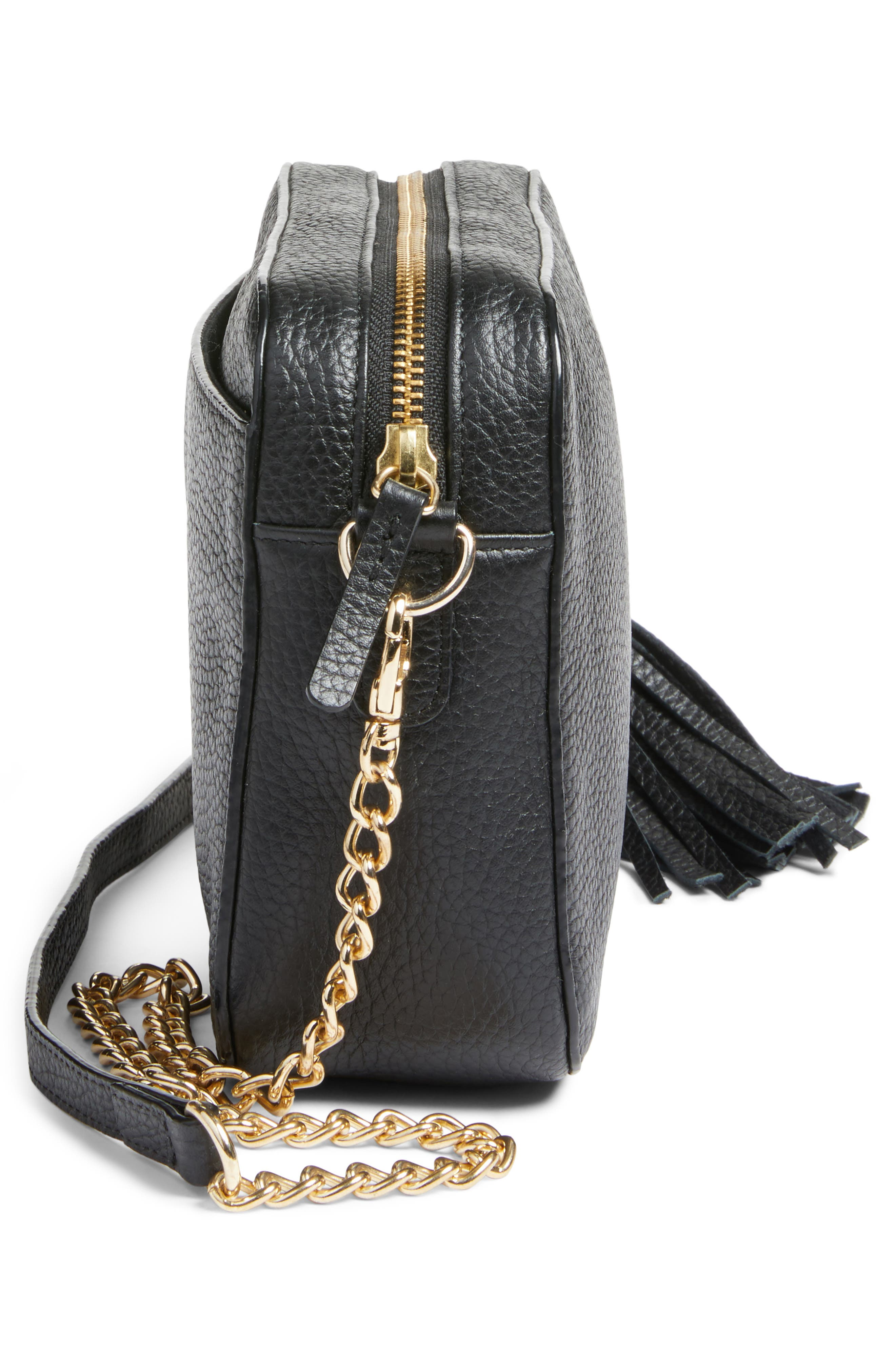 Alternate Image 5  - Nordstrom Ella Tassel Leather Crossbody Bag