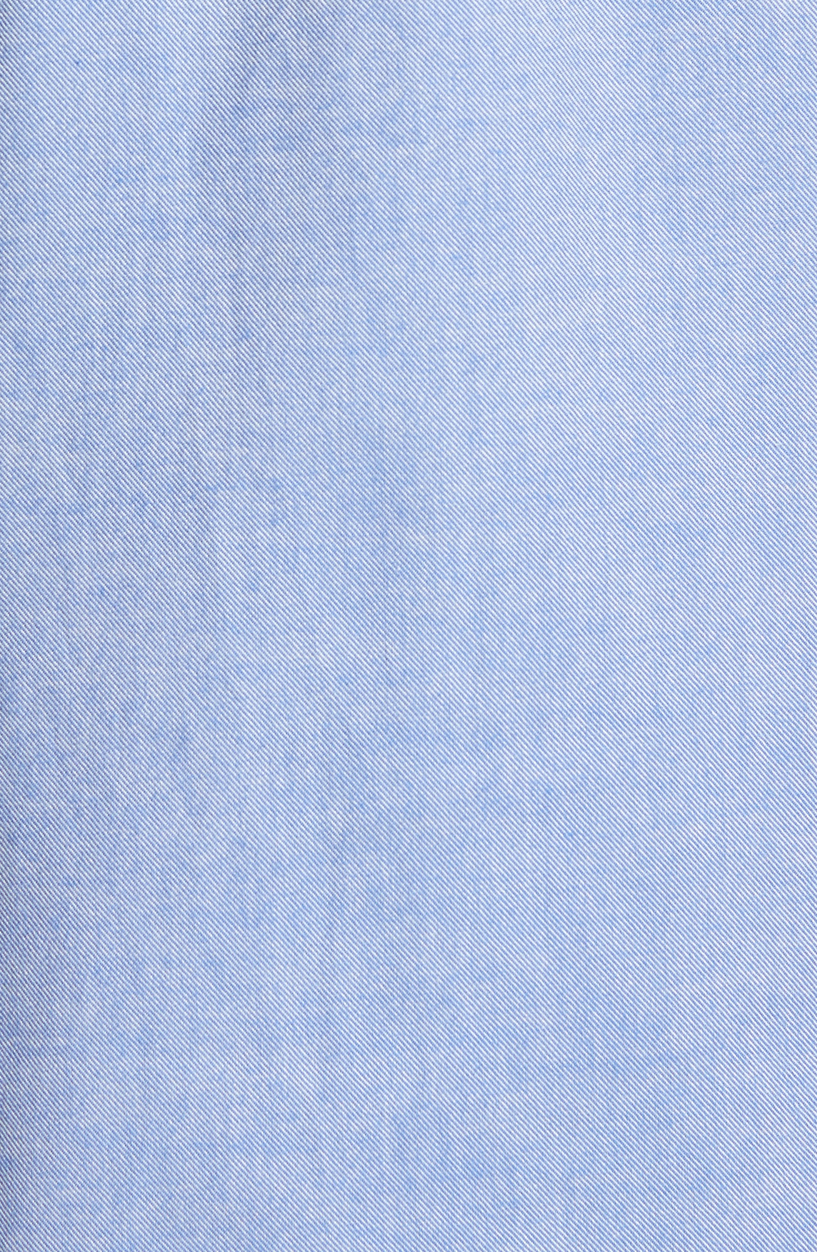 Alternate Image 5  - Jeremy Argyle Slim Fit Oxford Cloth Sport Shirt