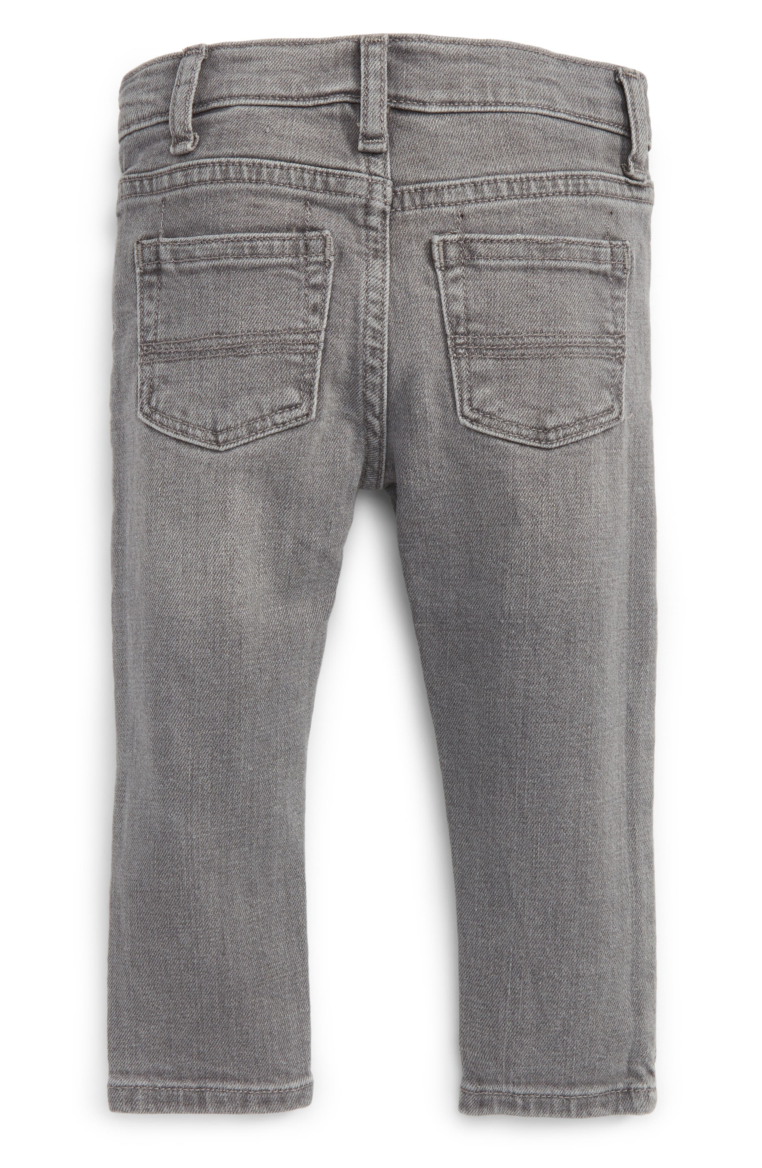 Slouch Jeans,                             Alternate thumbnail 2, color,                             Grey
