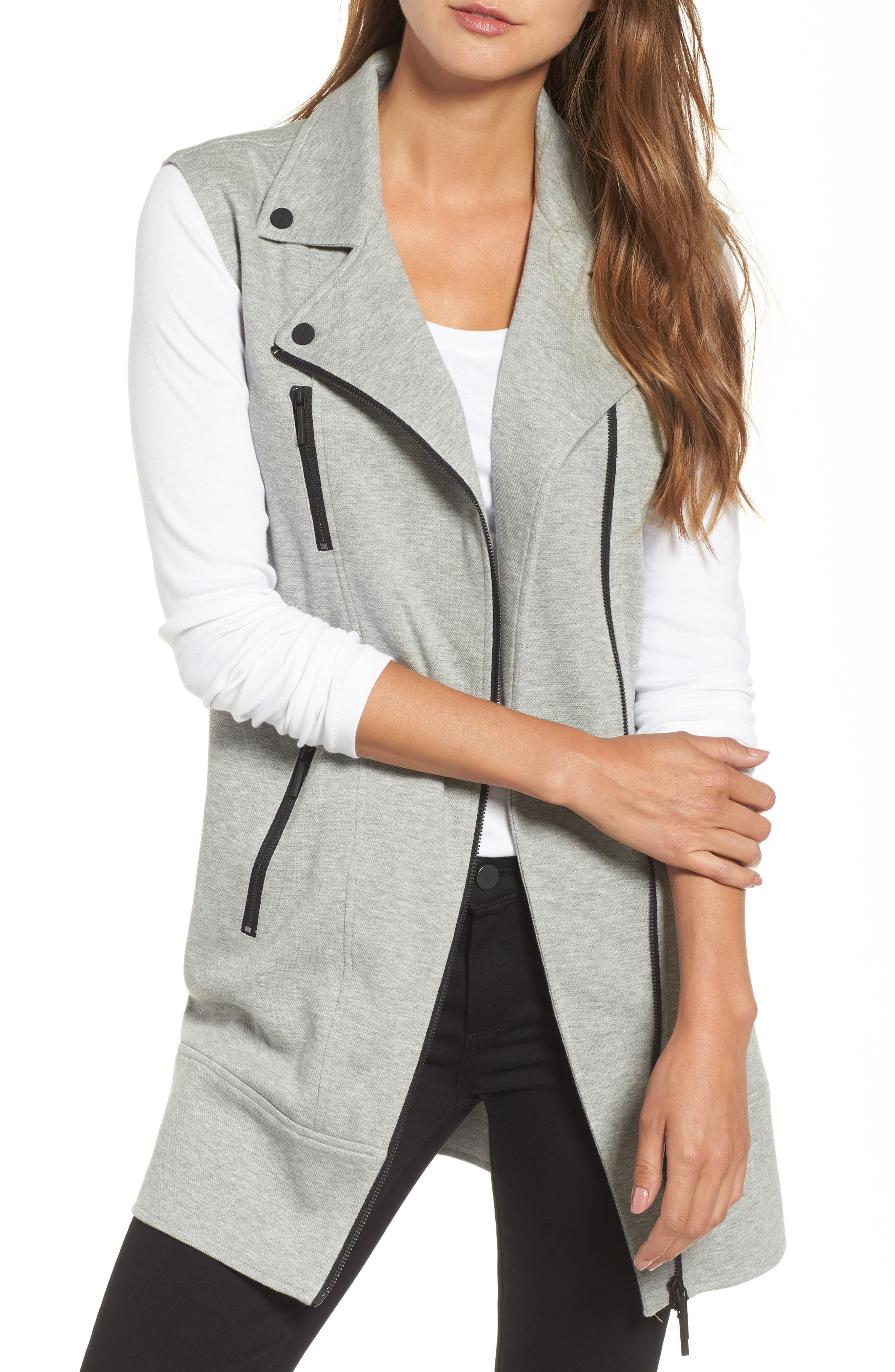 Alternate Image 1 Selected - Kenneth Cole New York Moto Vest