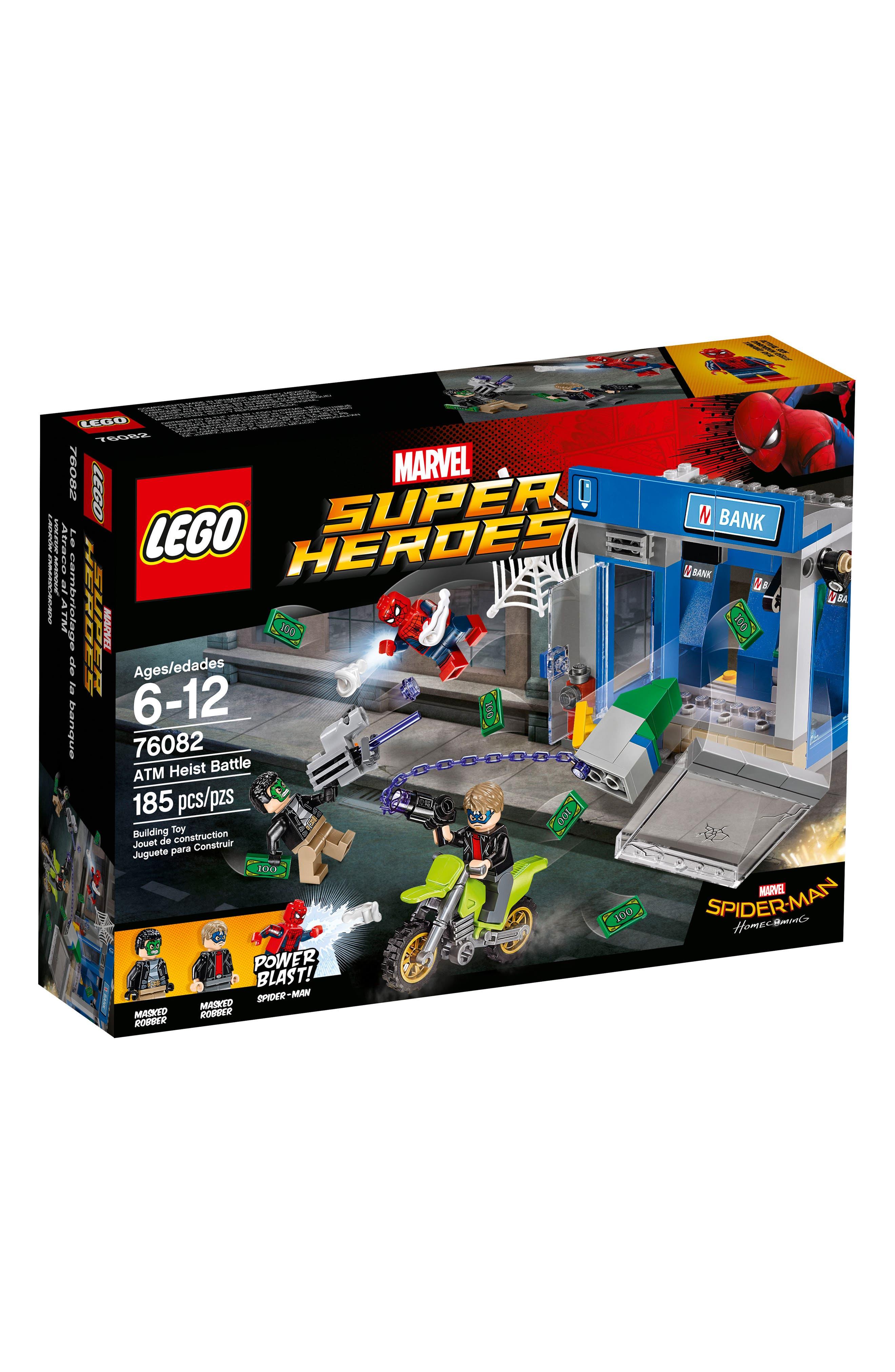 Marvel Super Heroes Spider-Man ATM Heist Battle Set - 76082,                         Main,                         color, Multi