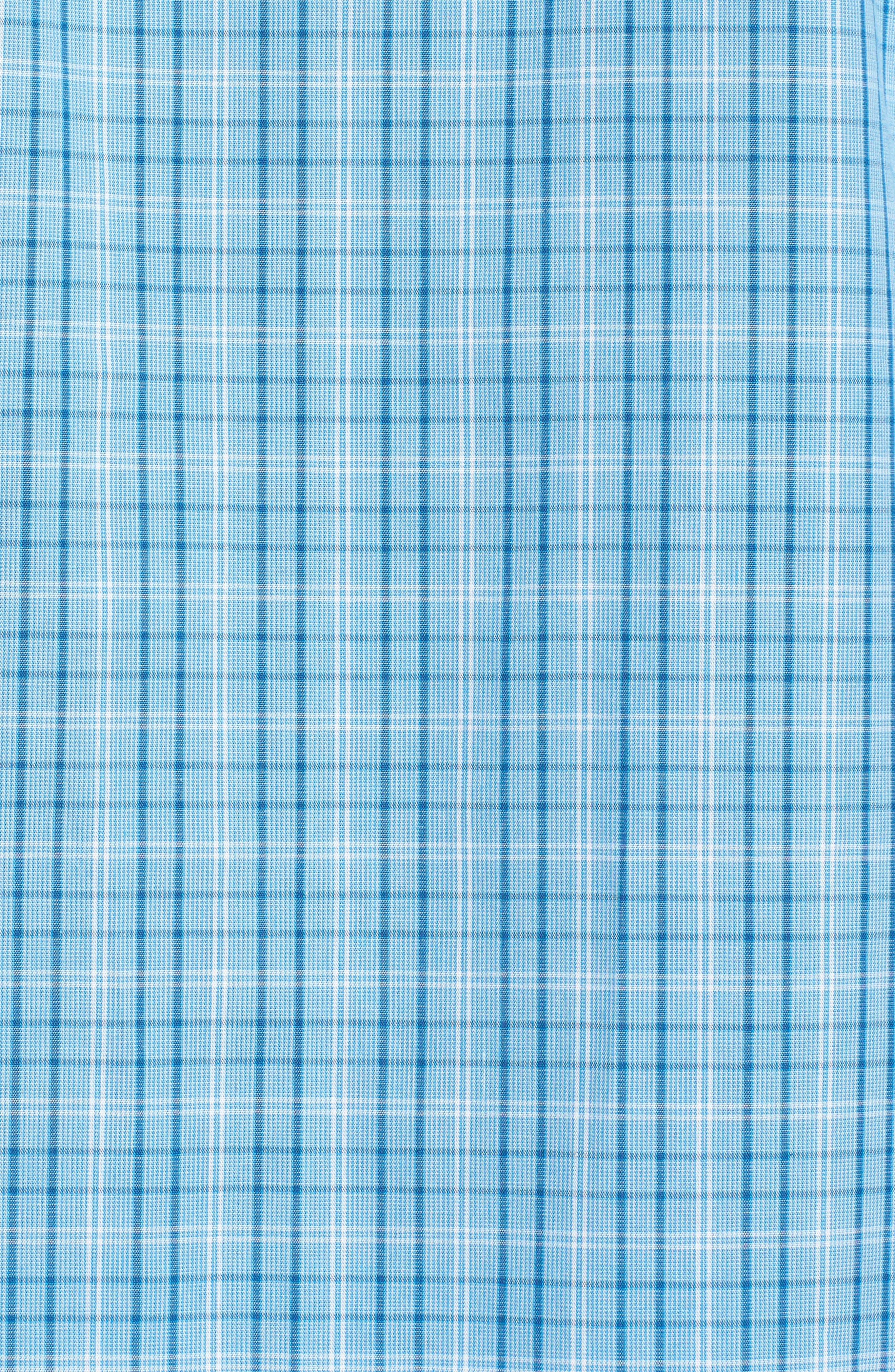 Alternate Image 5  - Nordstrom Men's Shop Poplin Pajama Set