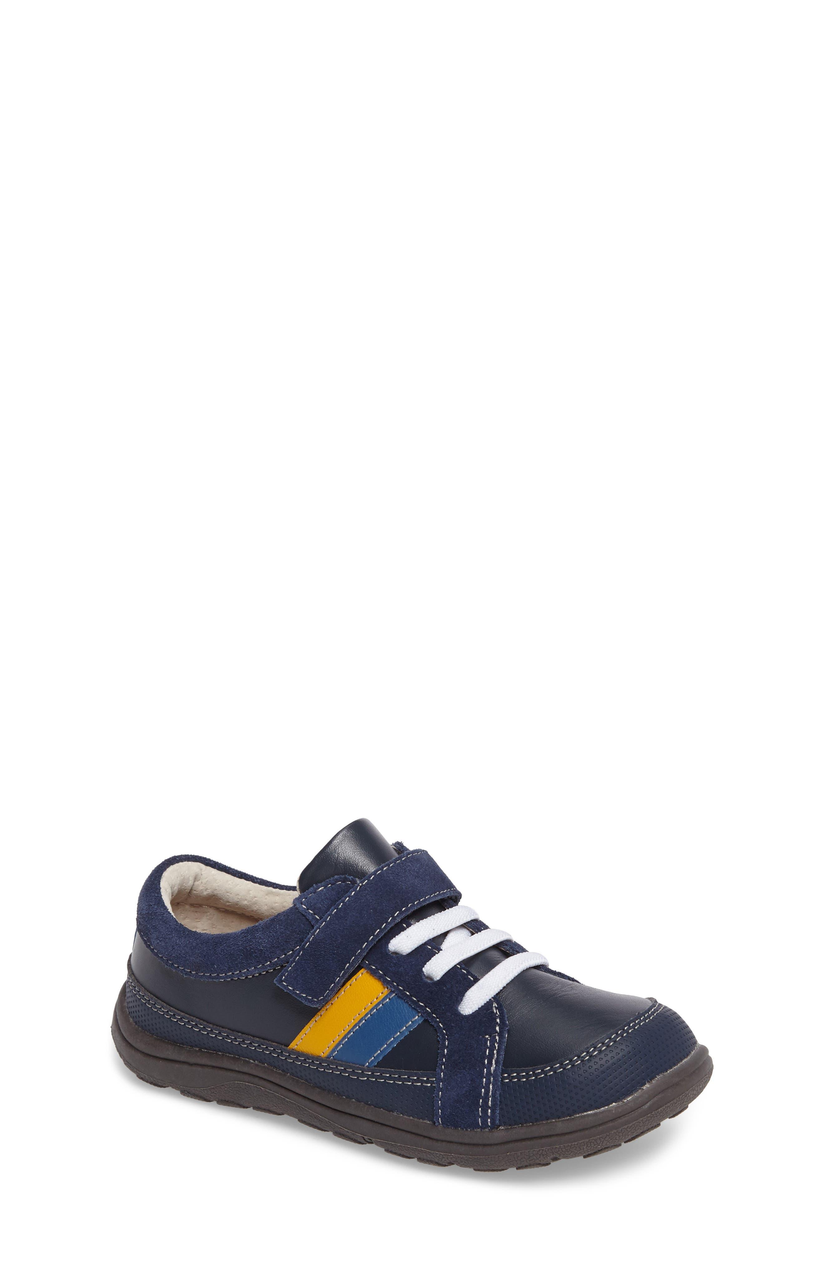 'Randall' Sneaker,                         Main,                         color, Navy