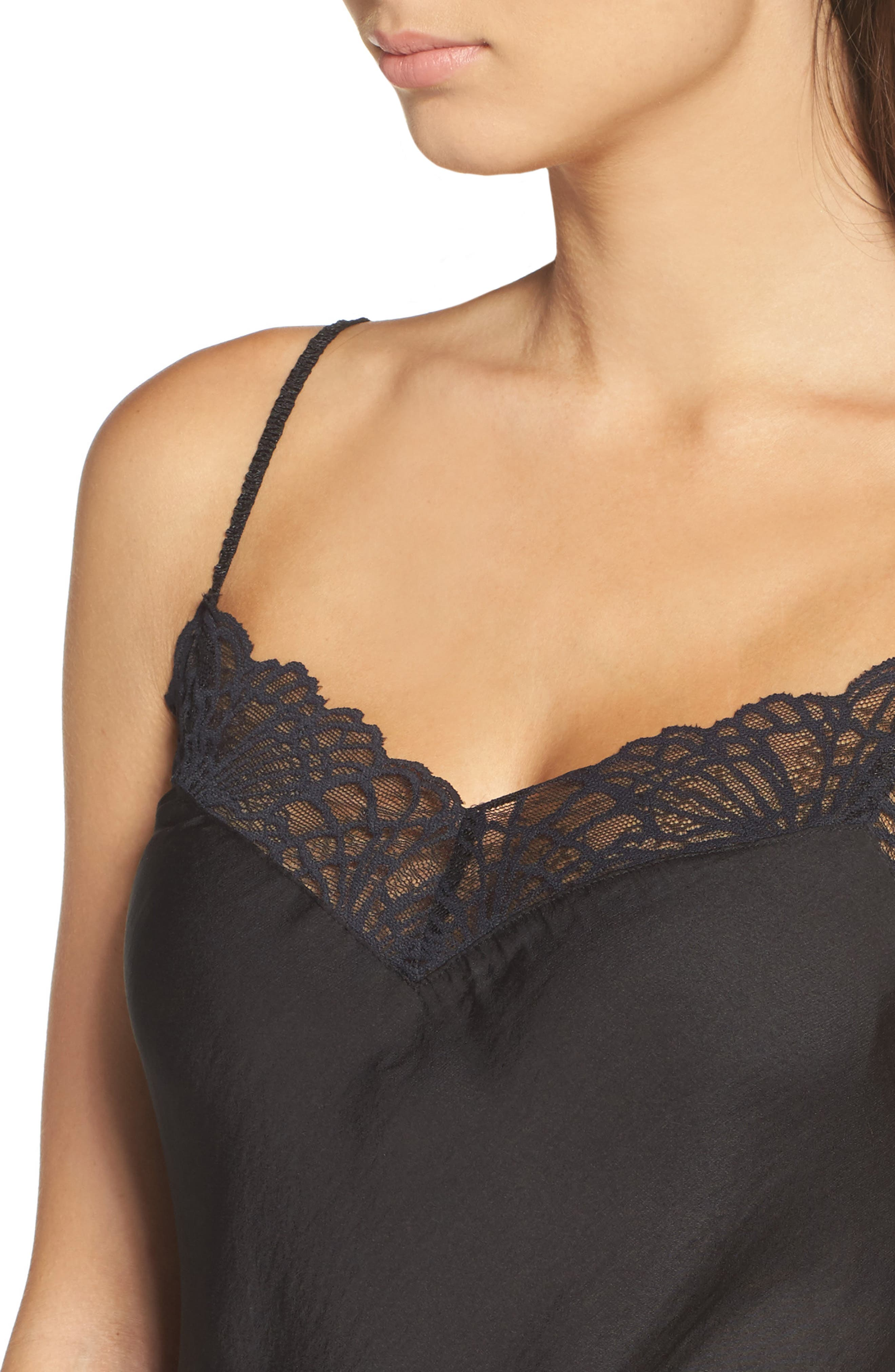 Colette Chemise,                             Alternate thumbnail 5, color,                             Black