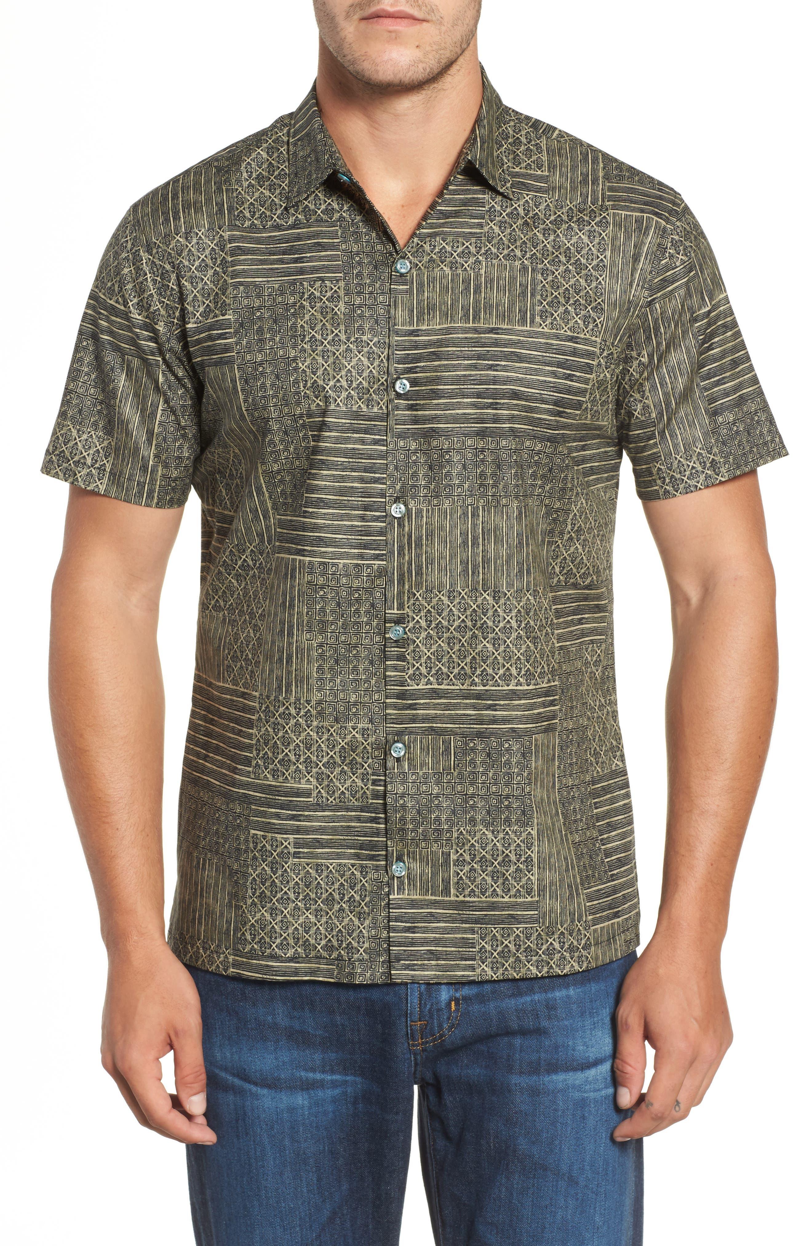 Alternate Image 1 Selected - Tori Richard Spring Field Trim Fit Print Sport Shirt