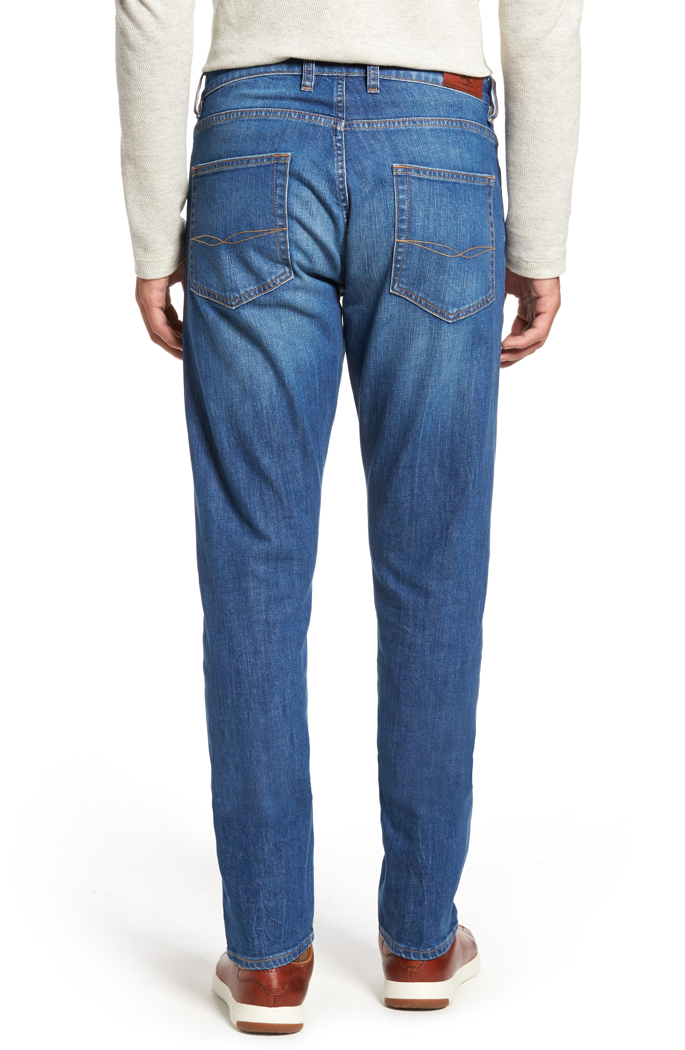 Cranfield Straight Leg Jeans,                             Alternate thumbnail 2, color,                             Denim