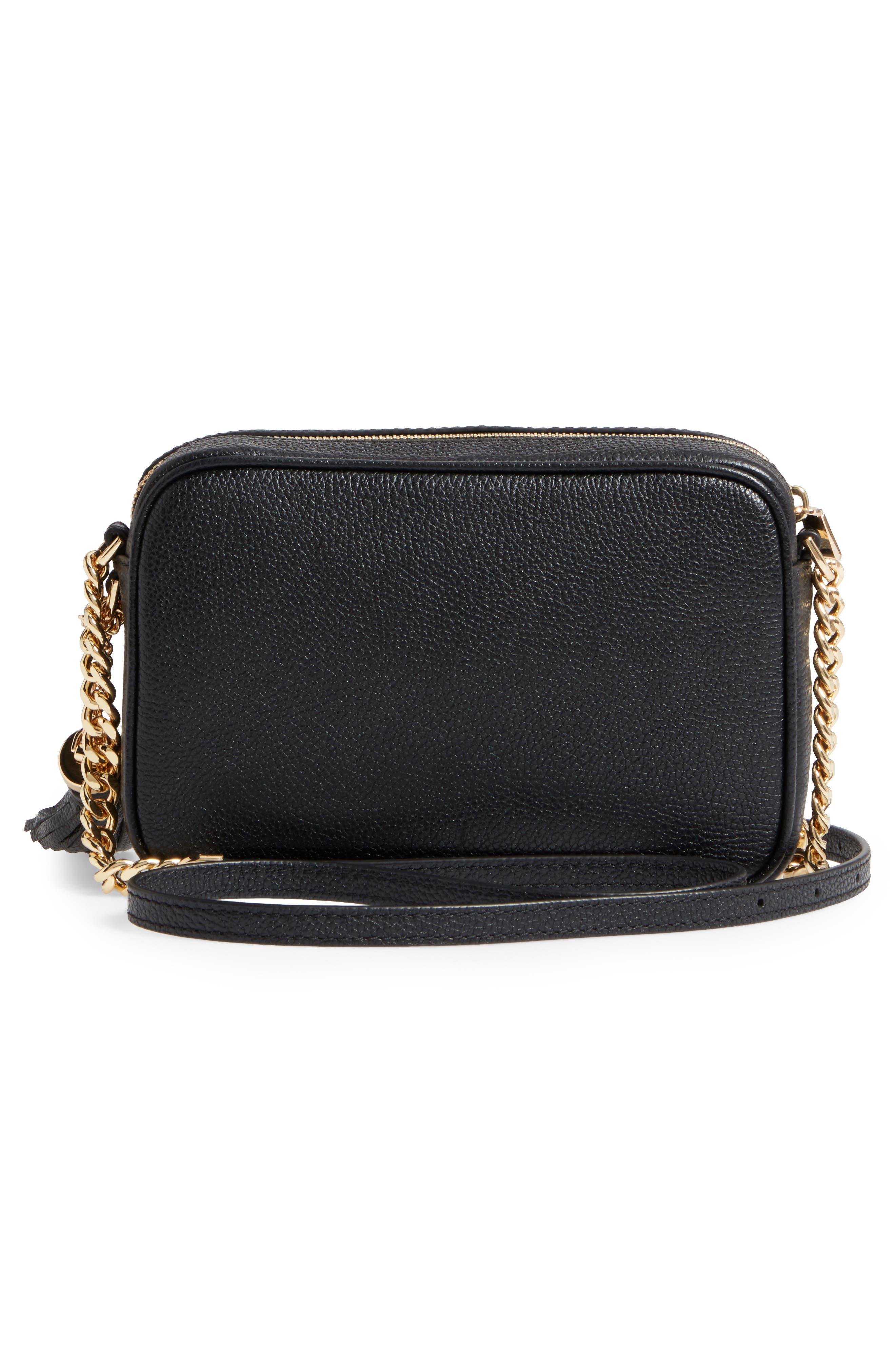 Alternate Image 3  - MICHAEL Michael Kors Medium Ginny Leather Camera Bag