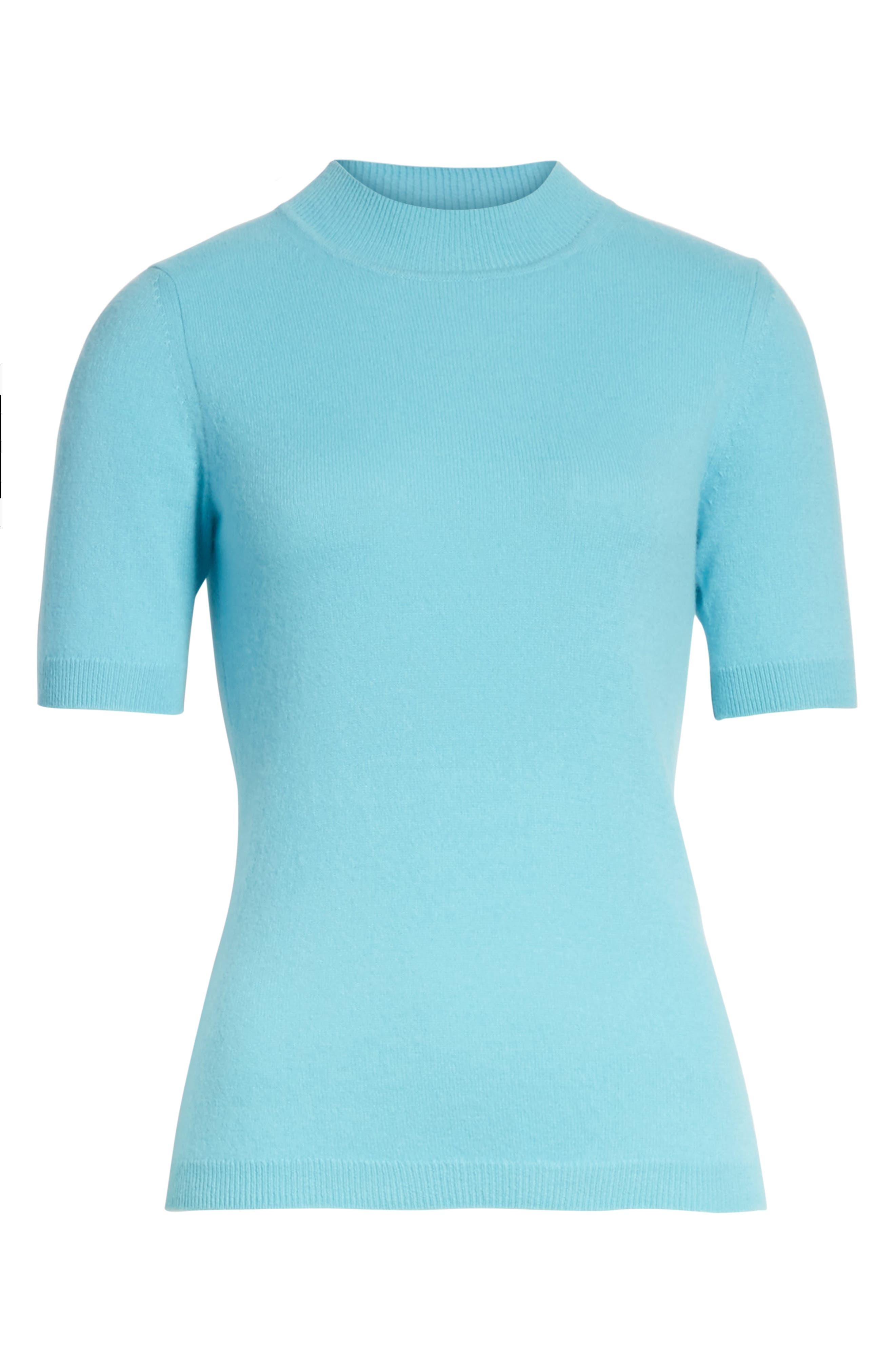 Alternate Image 6  - Diane von Furstenberg Mock Neck Cashmere Sweater