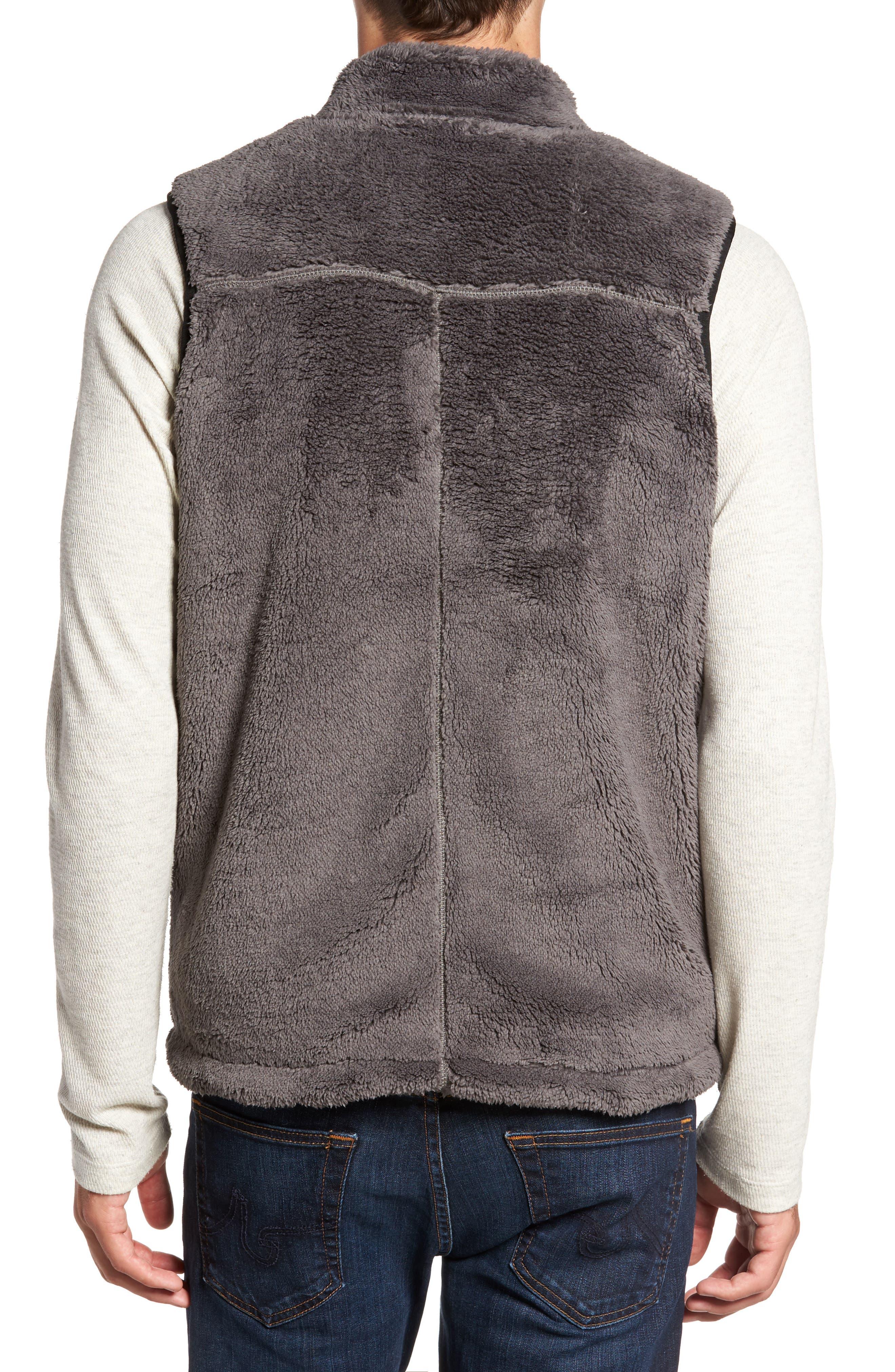 Alternate Image 2  - True Grit Double Up Pebble Pile Faux Fur Vest