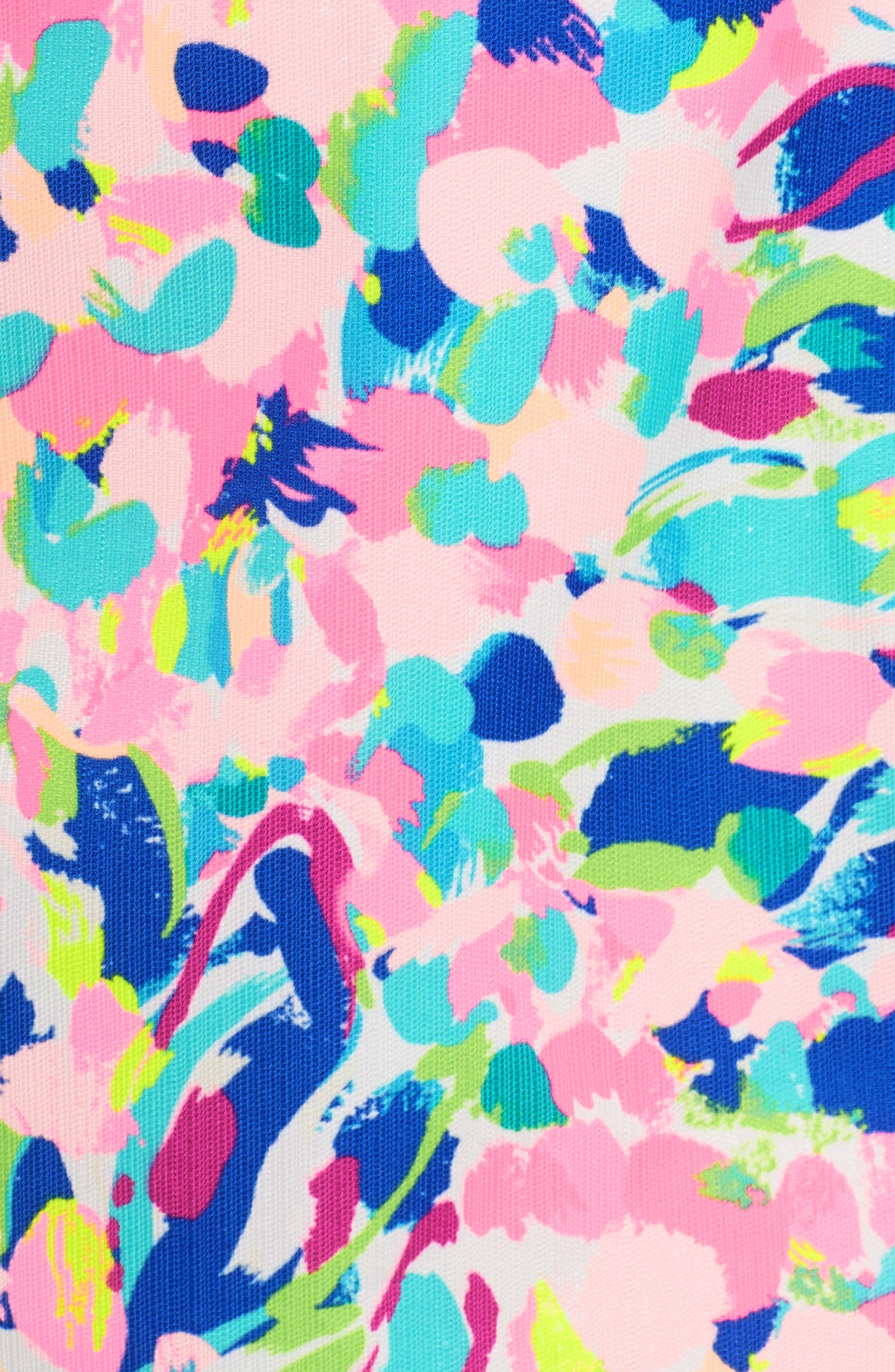 Cabrey Sheath Dress,                             Alternate thumbnail 5, color,                             Multi Pina Colada Club